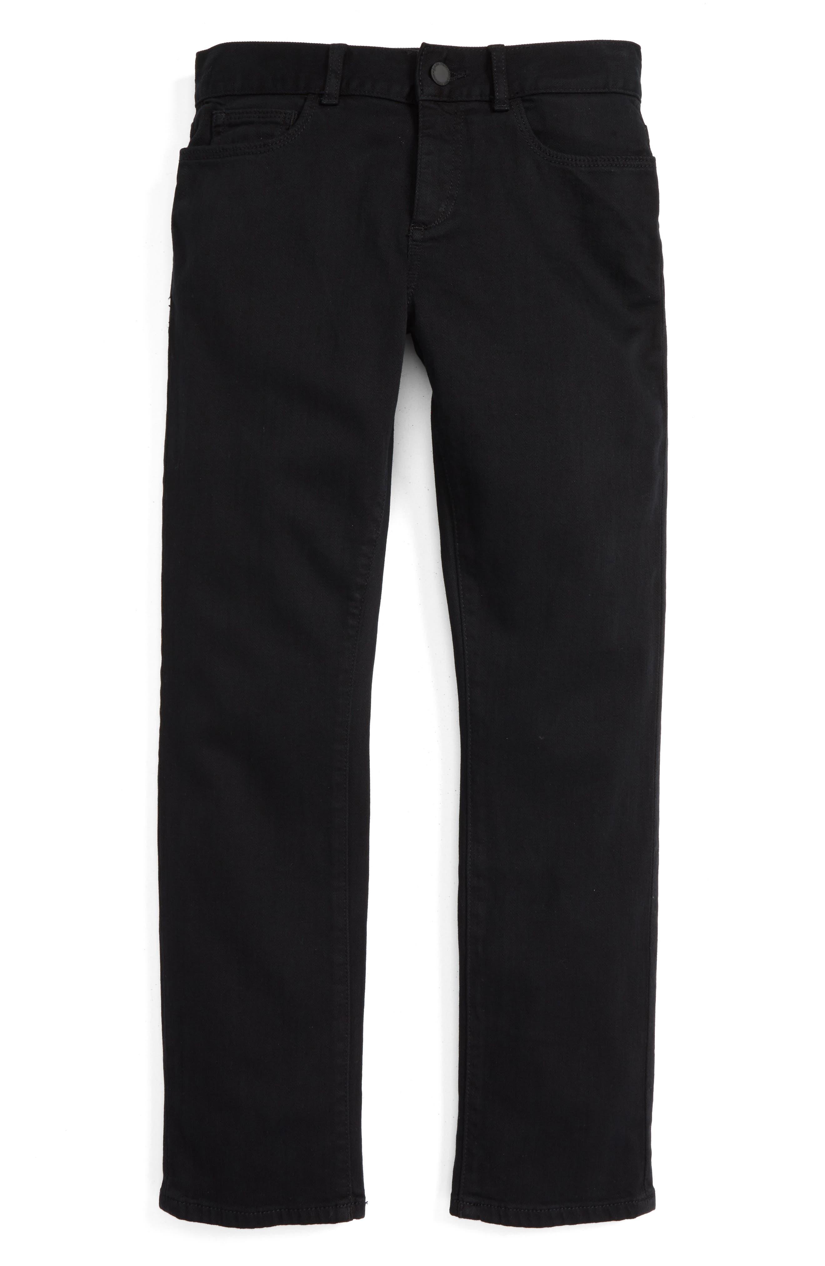 Brady Slim Fit Jeans,                             Alternate thumbnail 2, color,                             BLACK