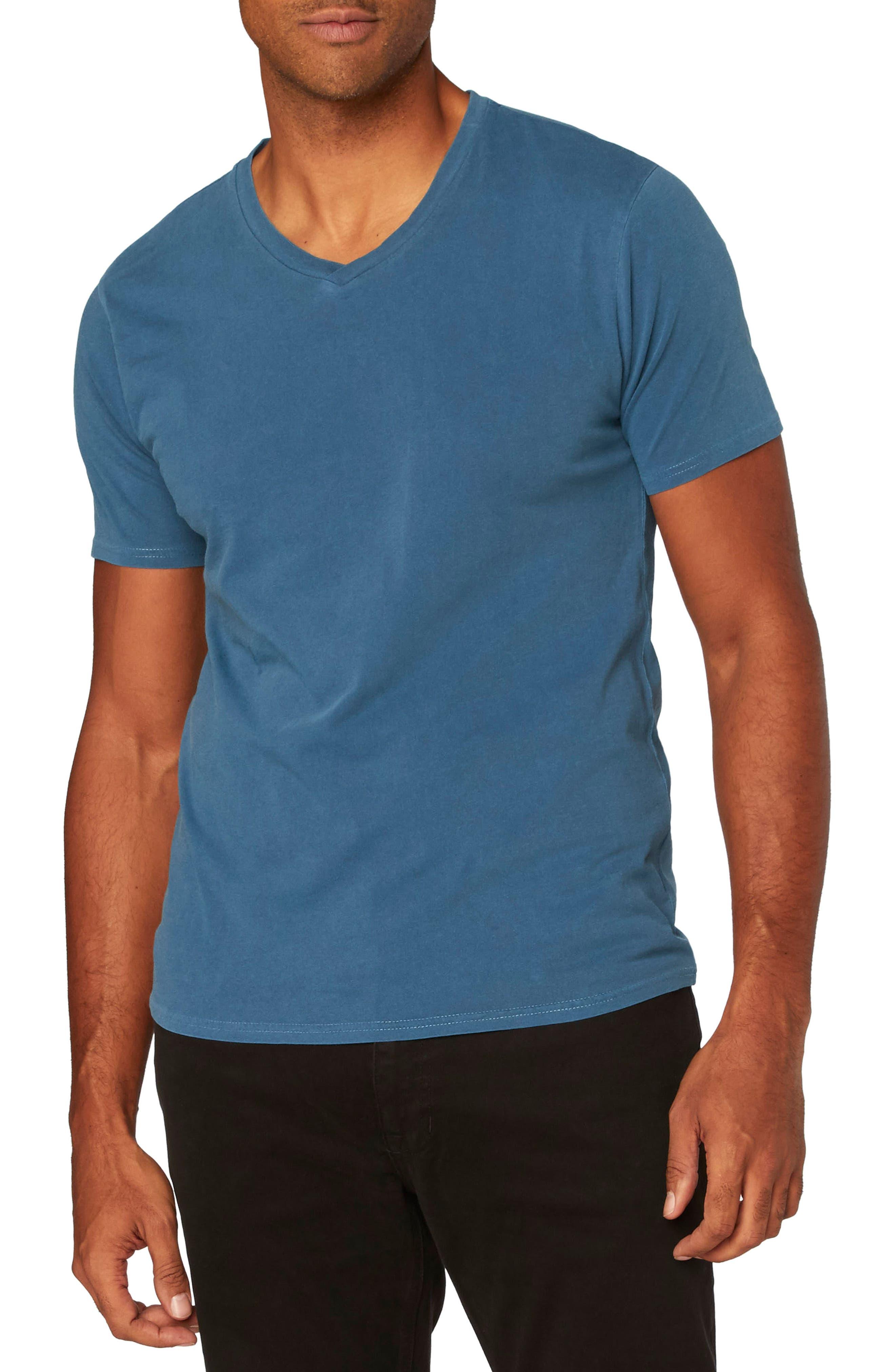 Standard V-Neck T-Shirt,                             Main thumbnail 5, color,