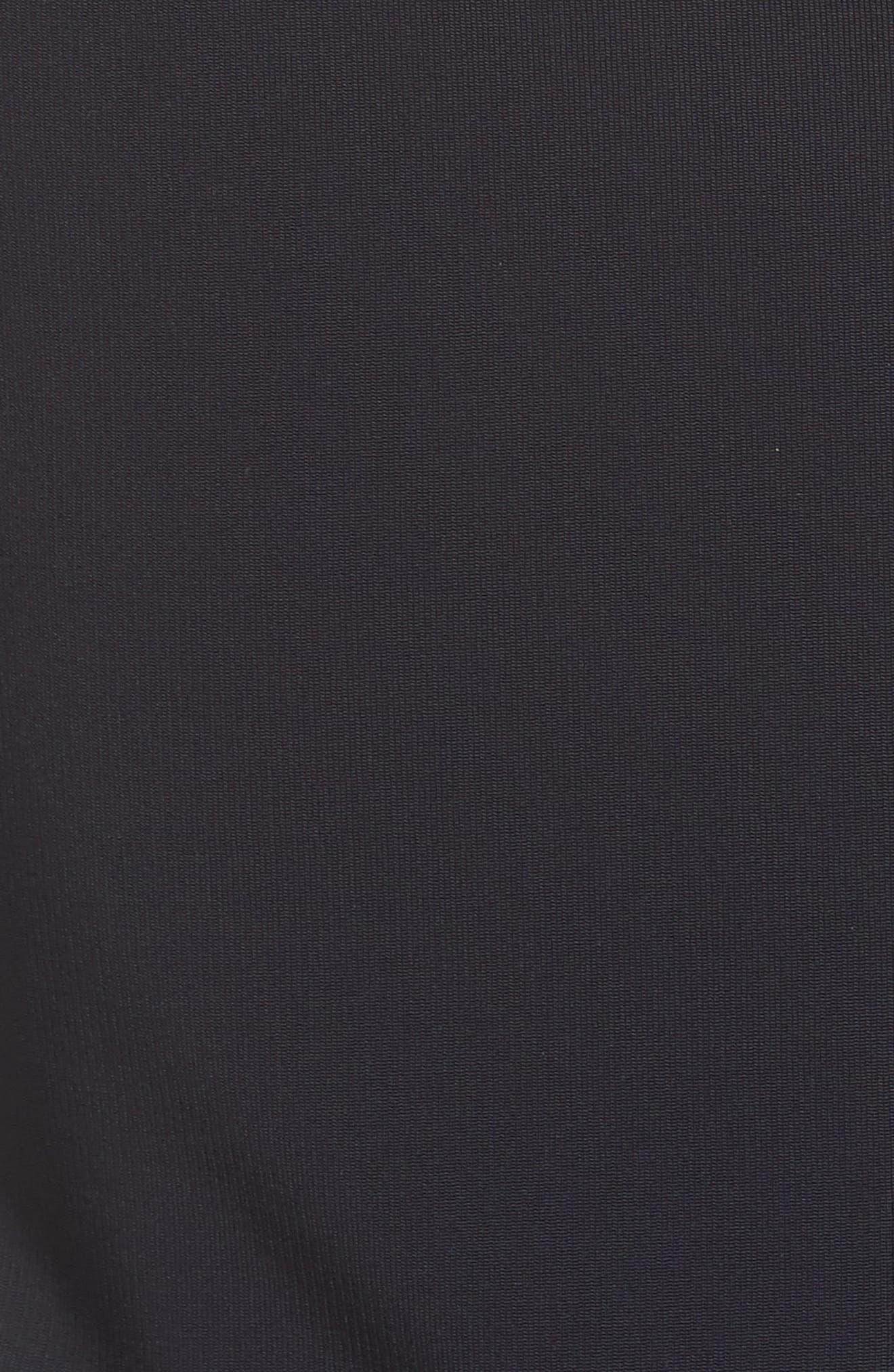 Open Back Rib Knit Dress,                             Alternate thumbnail 5, color,                             400