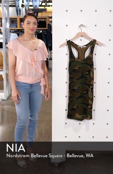 Camo Print Tank Dress, sales video thumbnail