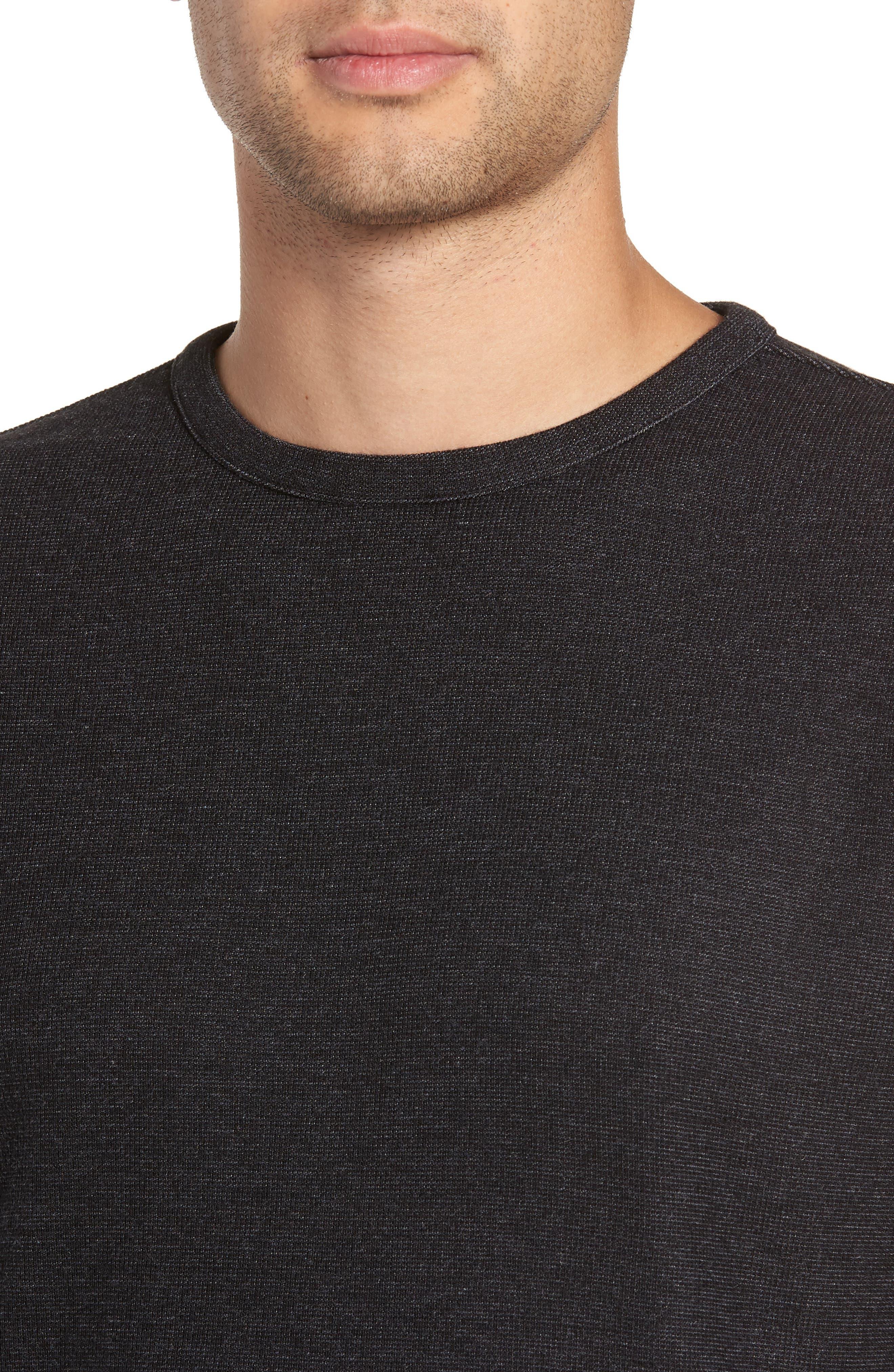 Trim Fit Clean Line Shirt,                             Alternate thumbnail 4, color,                             001