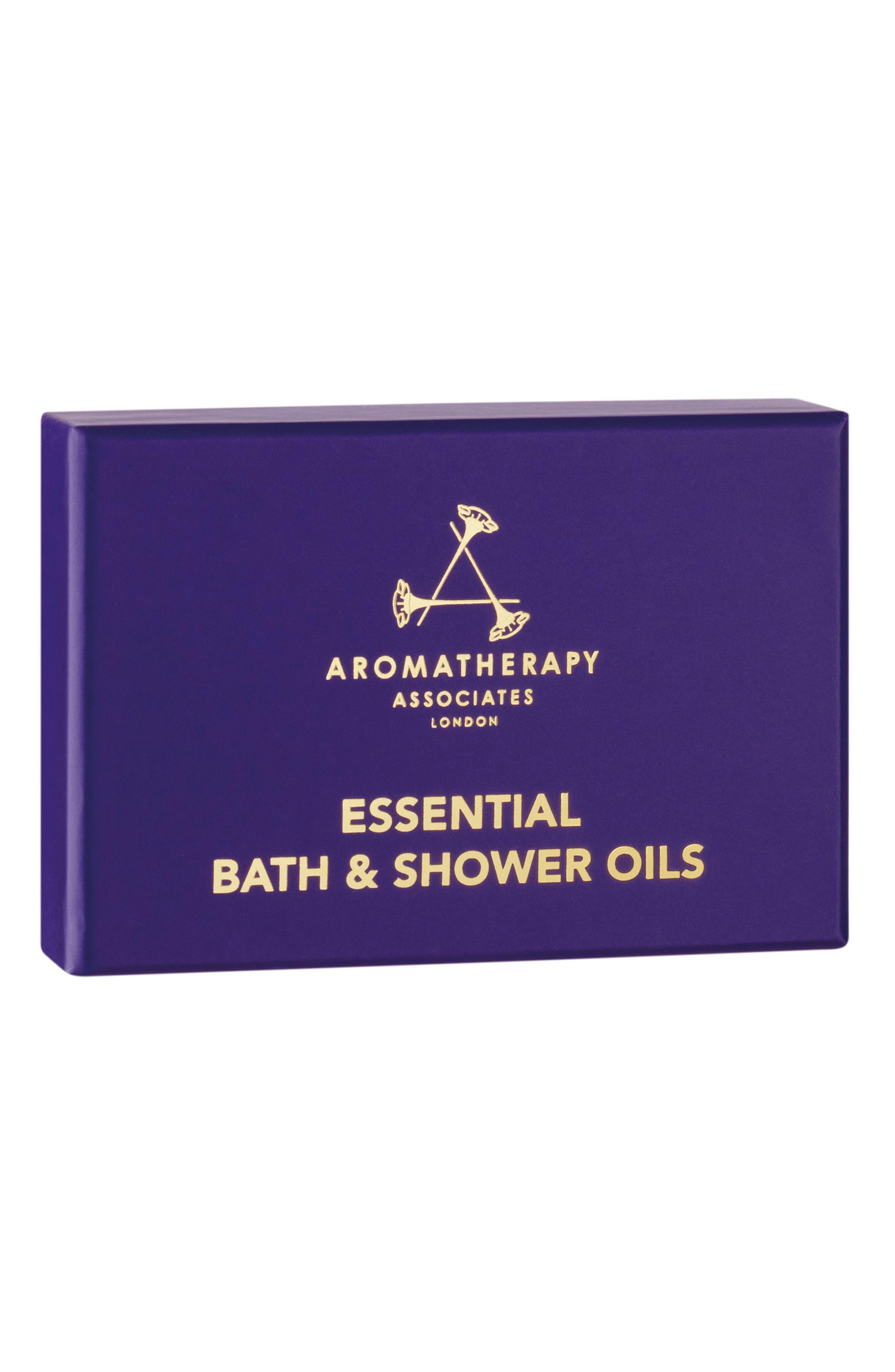 Essential Bath & Shower Oil Trio,                             Alternate thumbnail 2, color,                             NO COLOR