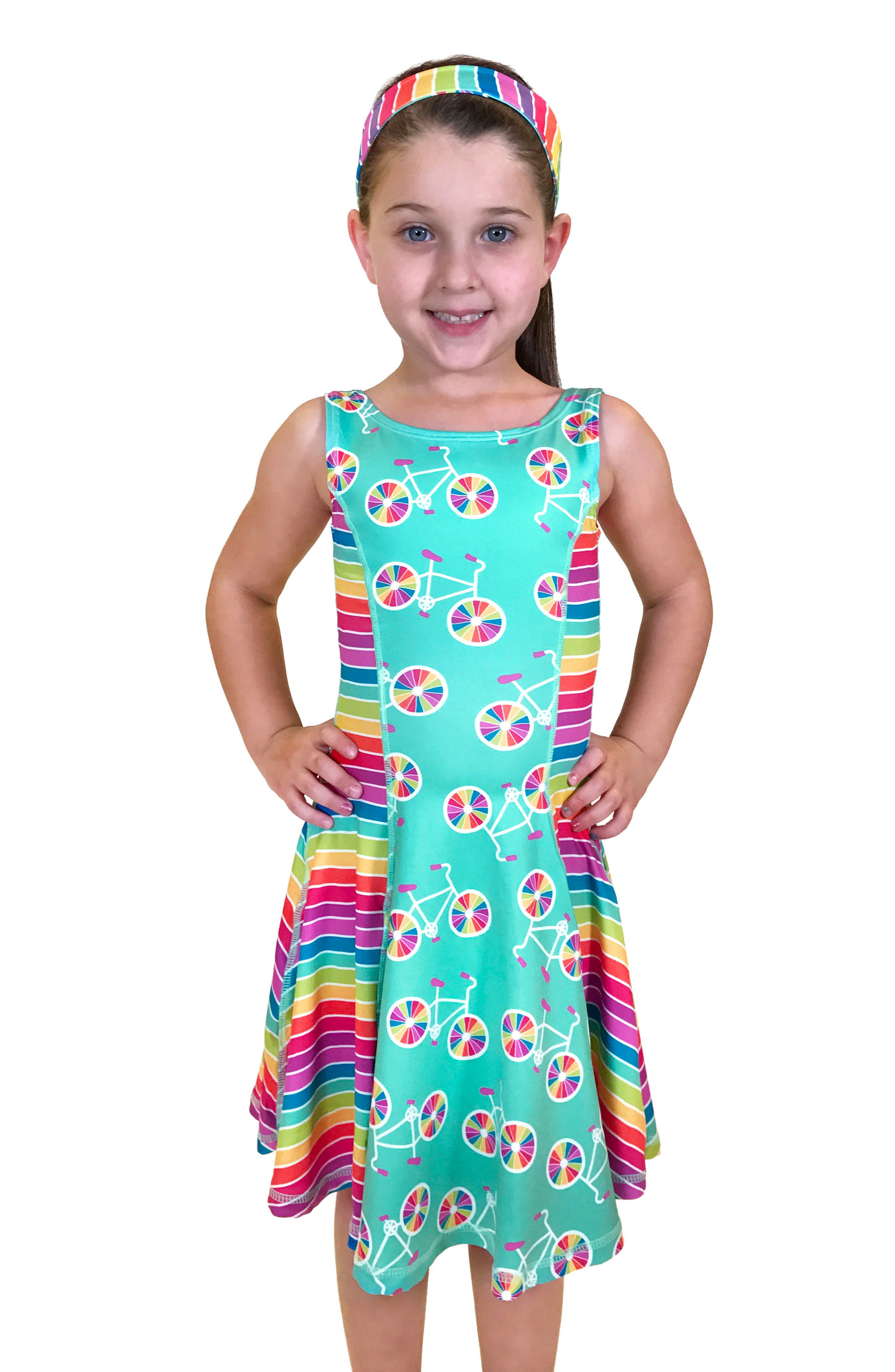 Flow Mixed Print Dress,                             Alternate thumbnail 24, color,