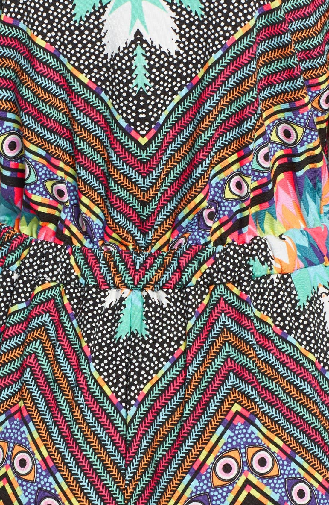 'Divine' Surplice Cover-Up Jumpsuit,                             Alternate thumbnail 2, color,                             001
