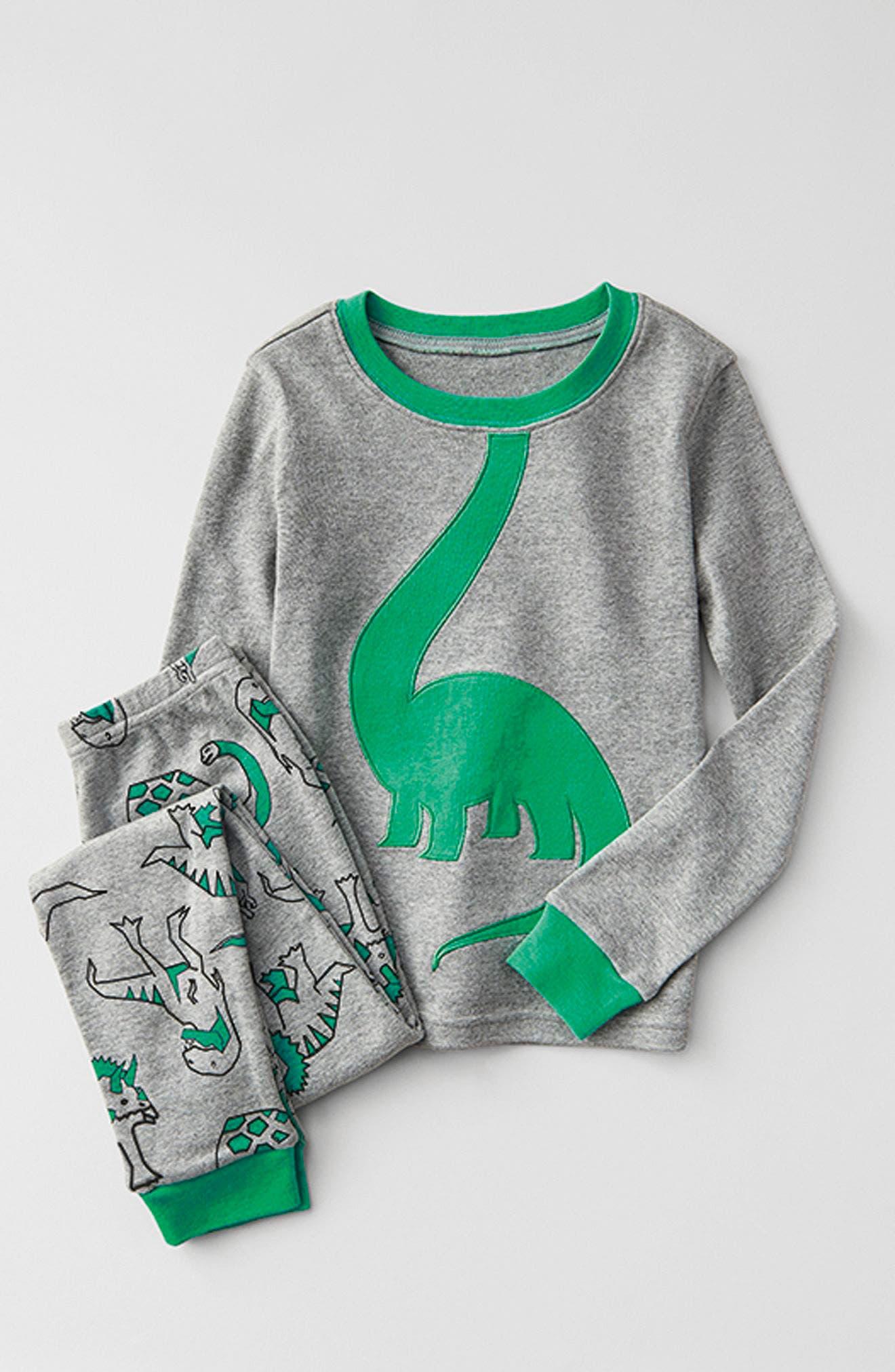 Appliqué Two-Piece Pajamas,                             Main thumbnail 1, color,                             050
