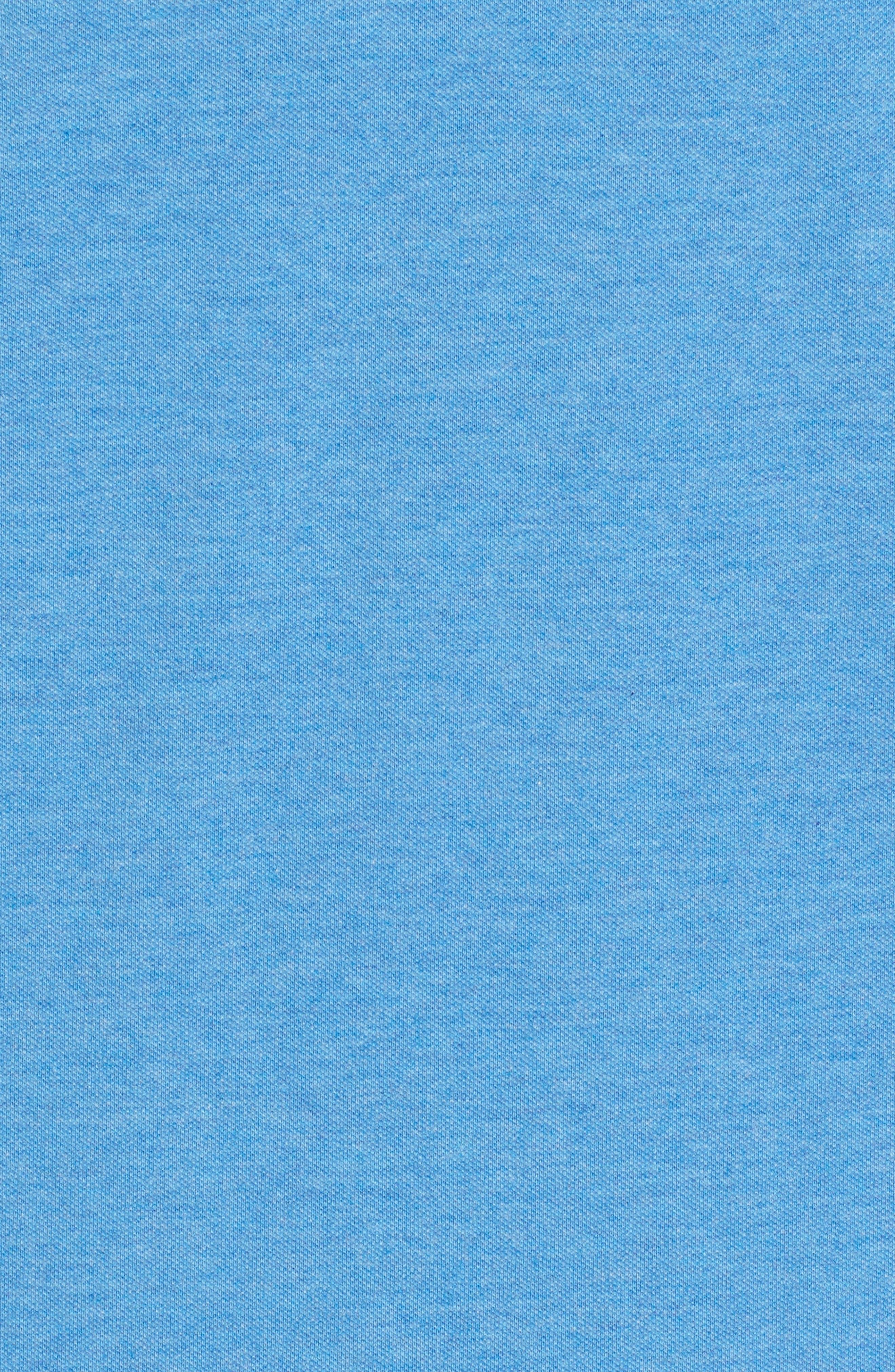 Regular Fit Piqué Polo,                             Alternate thumbnail 5, color,                             DOCKSIDE BLUE