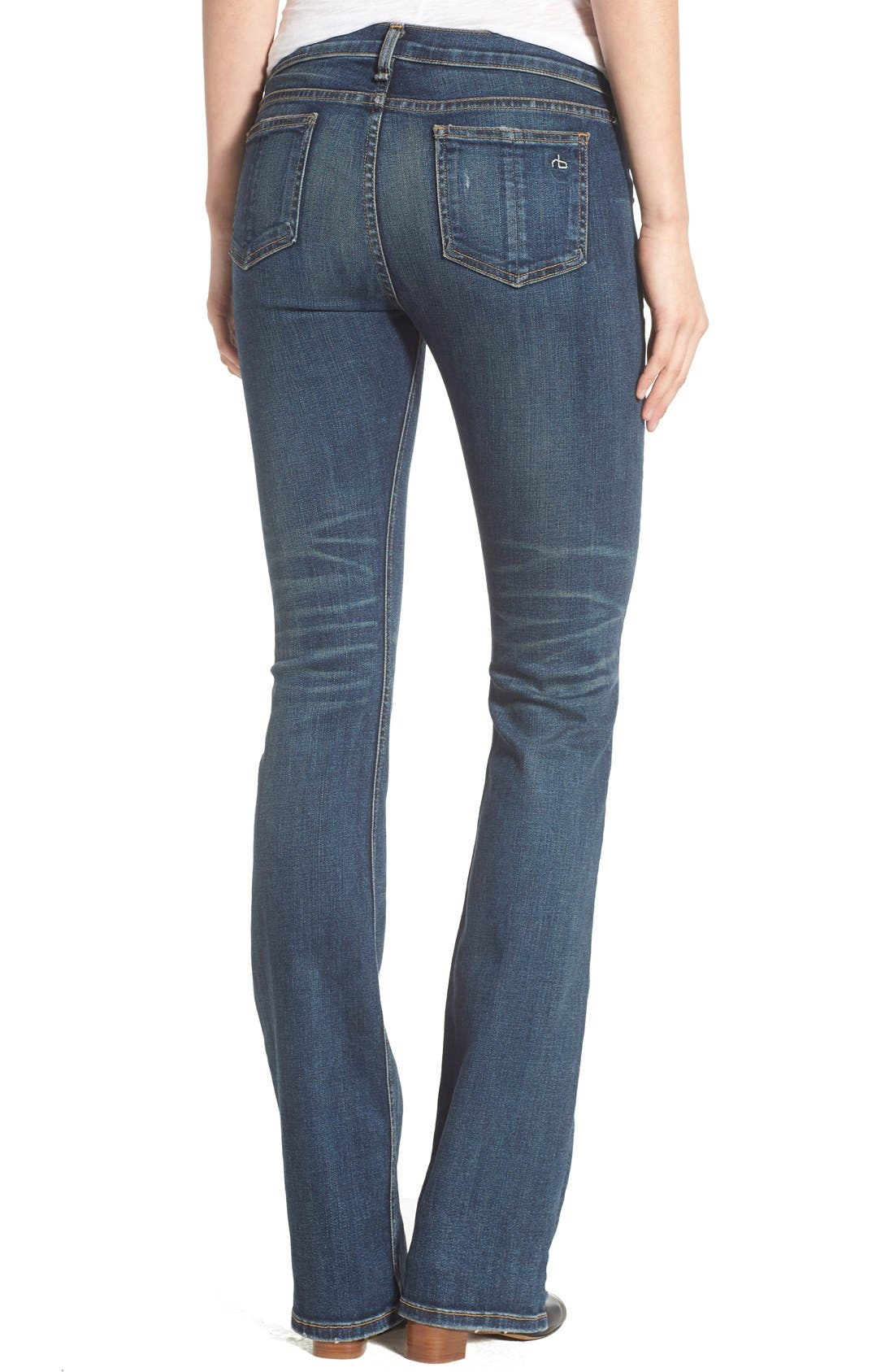 RAG & BONE,                             JEAN Bootcut Jeans,                             Alternate thumbnail 3, color,                             420