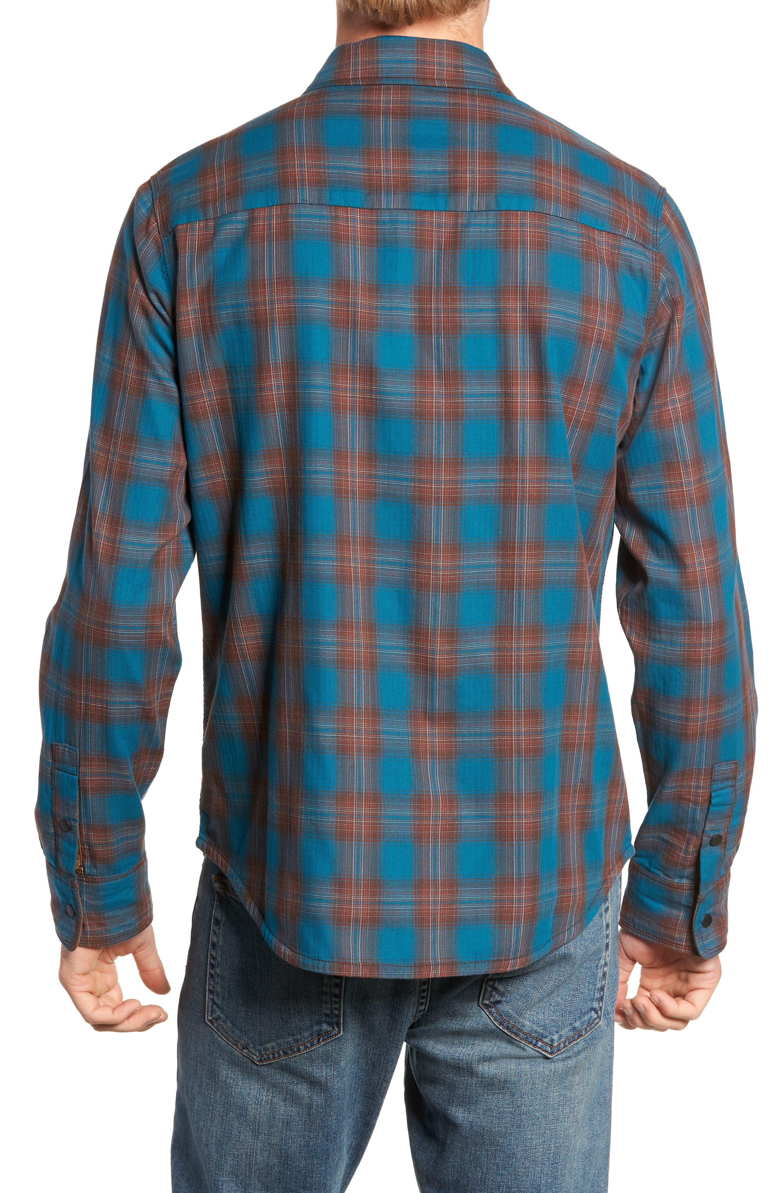 Howler Regular Fit Reversible Sport Shirt,                             Alternate thumbnail 4, color,                             LEGION BLUE HEATHER