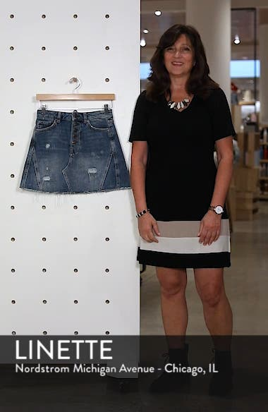 We the Free by Free People A-Line Denim Skirt, sales video thumbnail