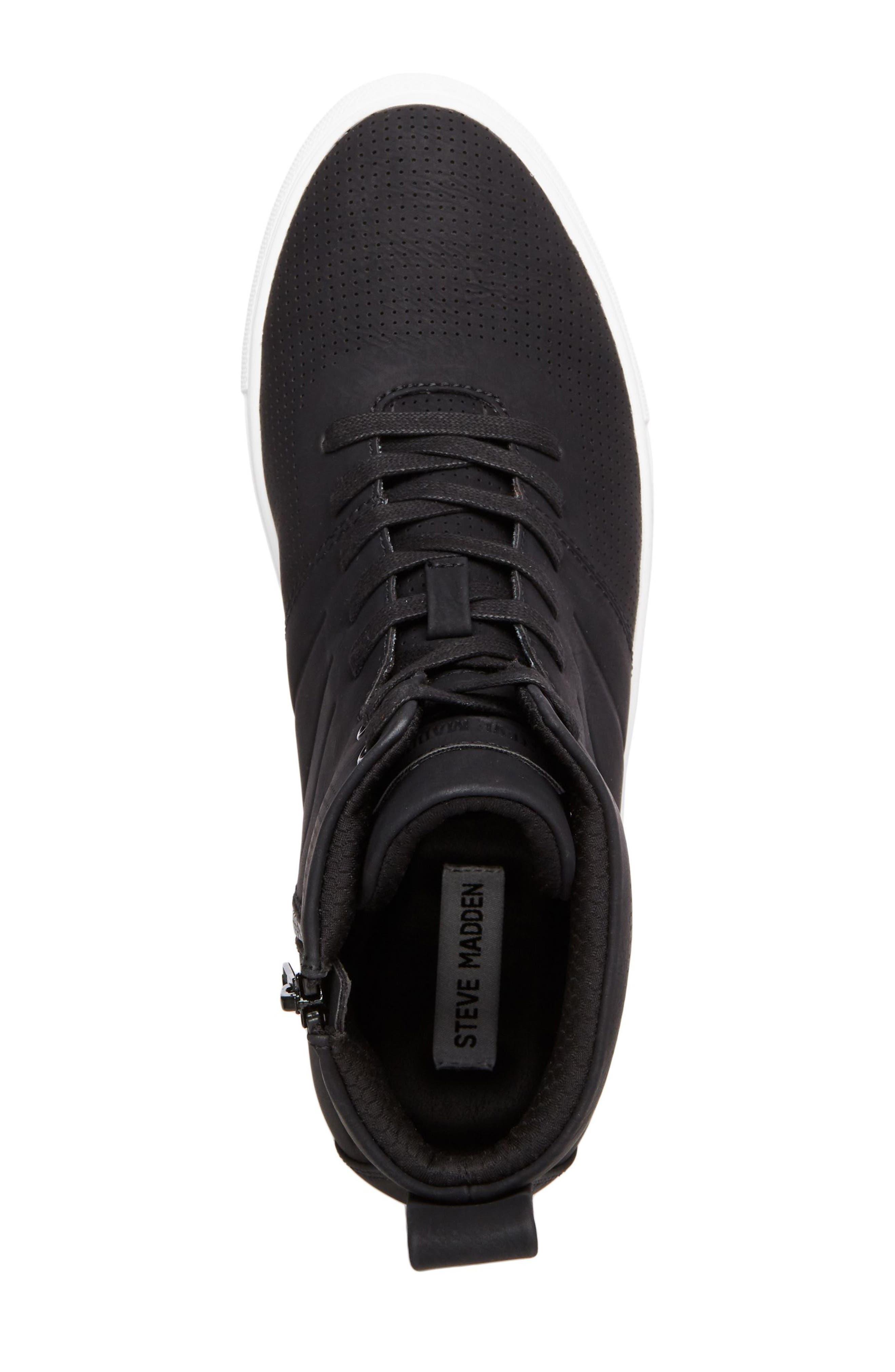 Eskape Sneaker,                             Alternate thumbnail 5, color,                             BLACK