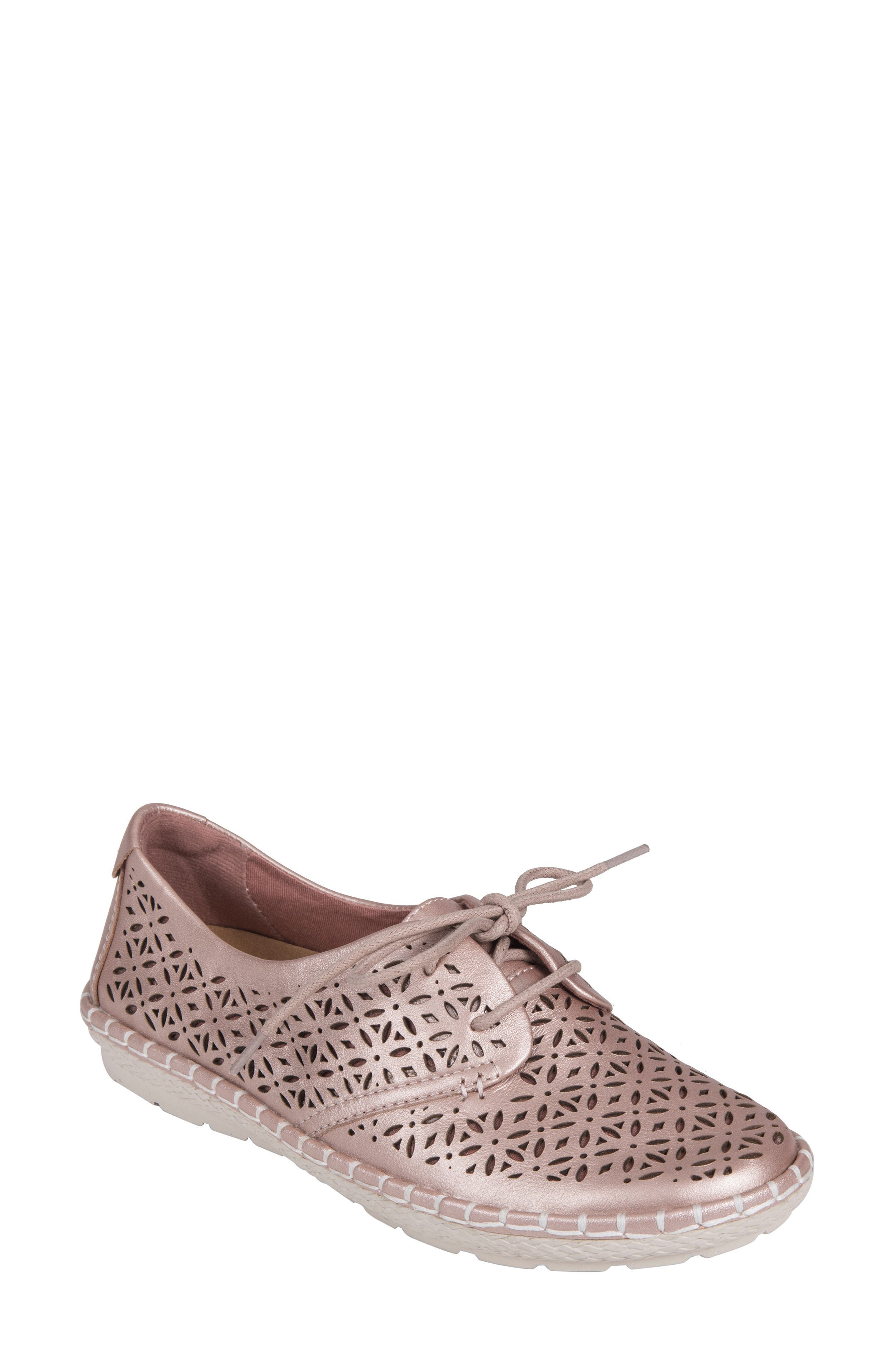 Pax Sneaker,                         Main,                         color, BLUSH LEATHER
