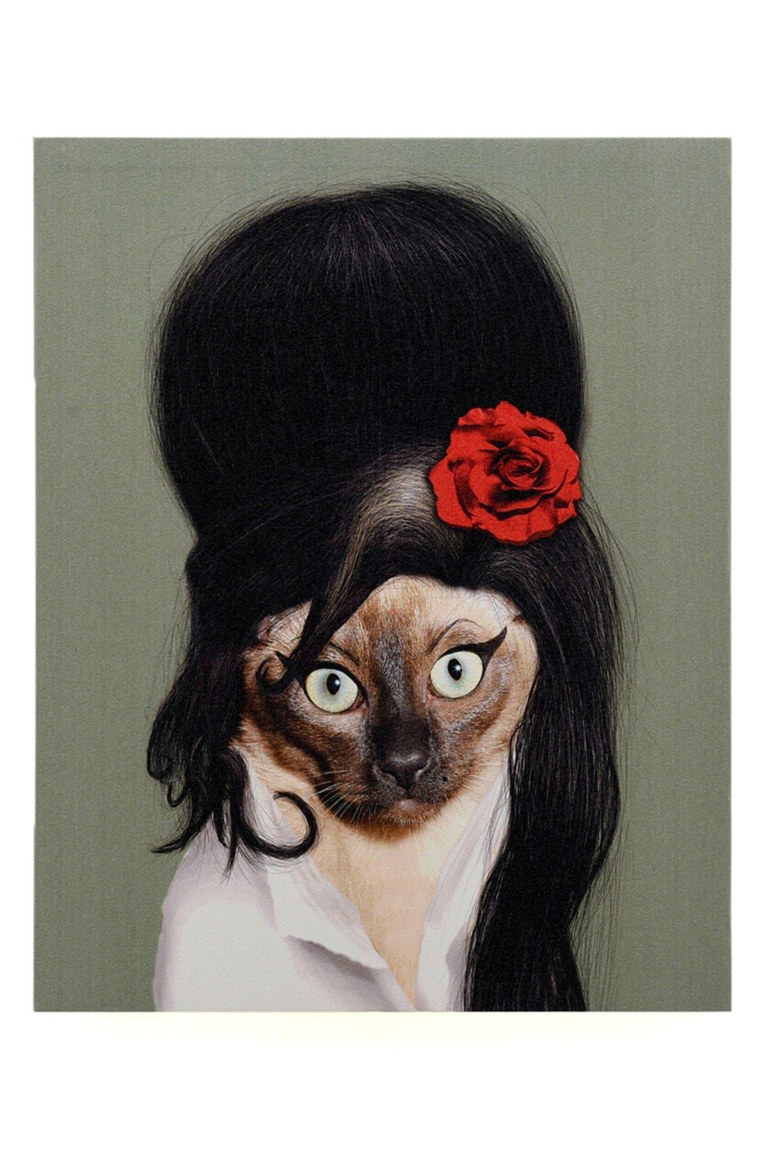 'Pets Rock<sup>™</sup> - Tattoo' Giclée Wall Art,                             Main thumbnail 1, color,                             300