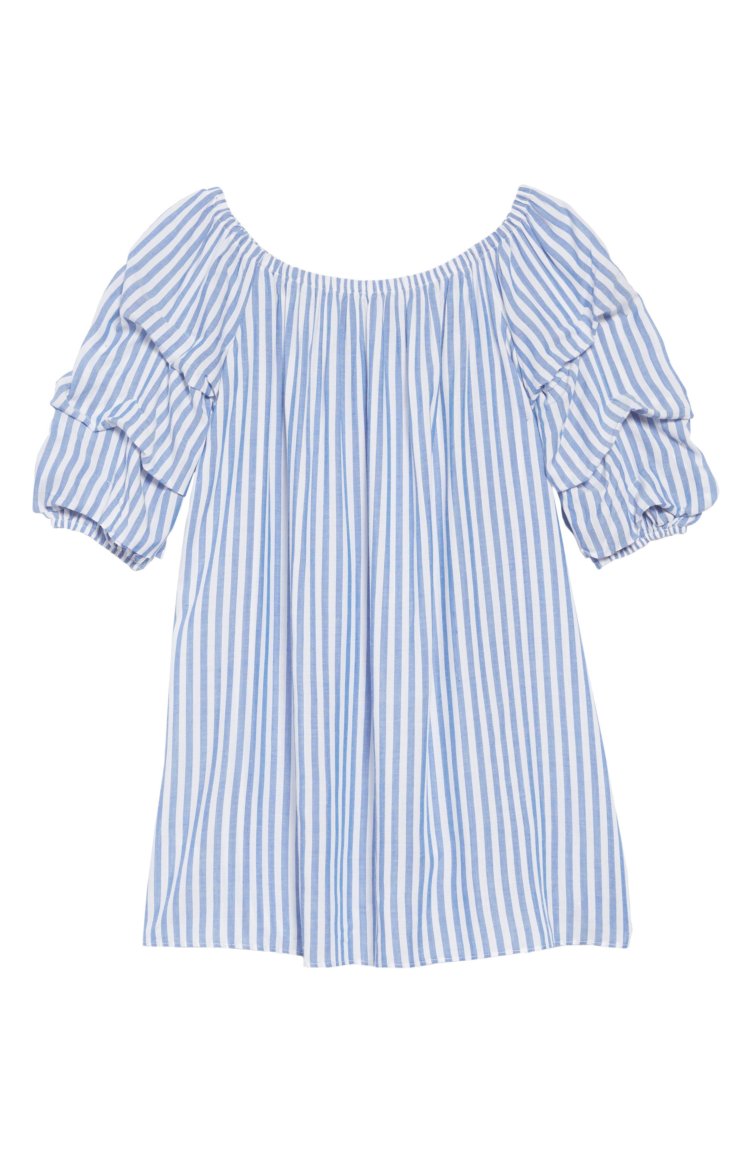 Off the Shoulder Dress,                         Main,                         color, 400