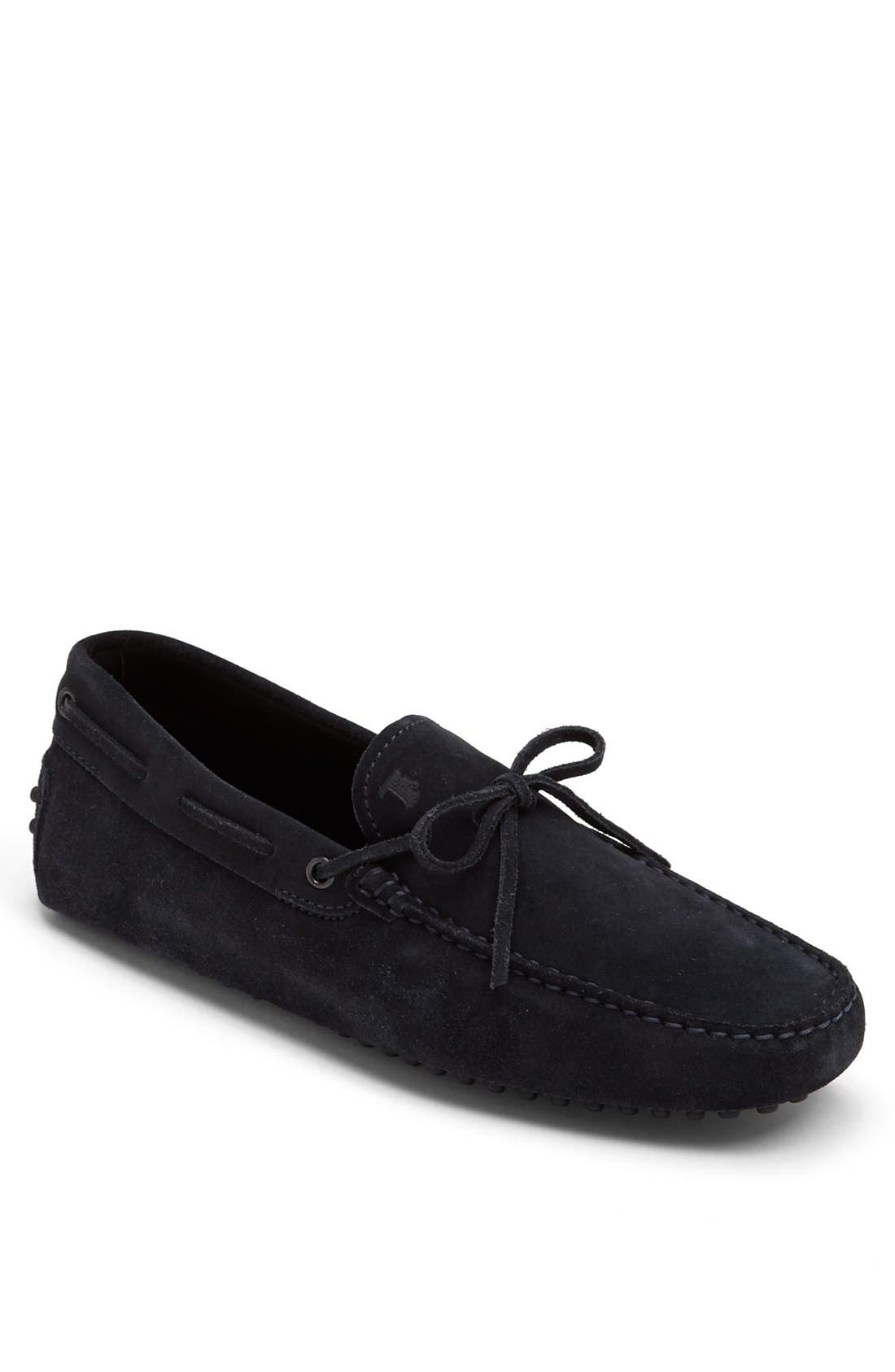 Gommini Tie Front Driving Moccasin,                             Main thumbnail 10, color,