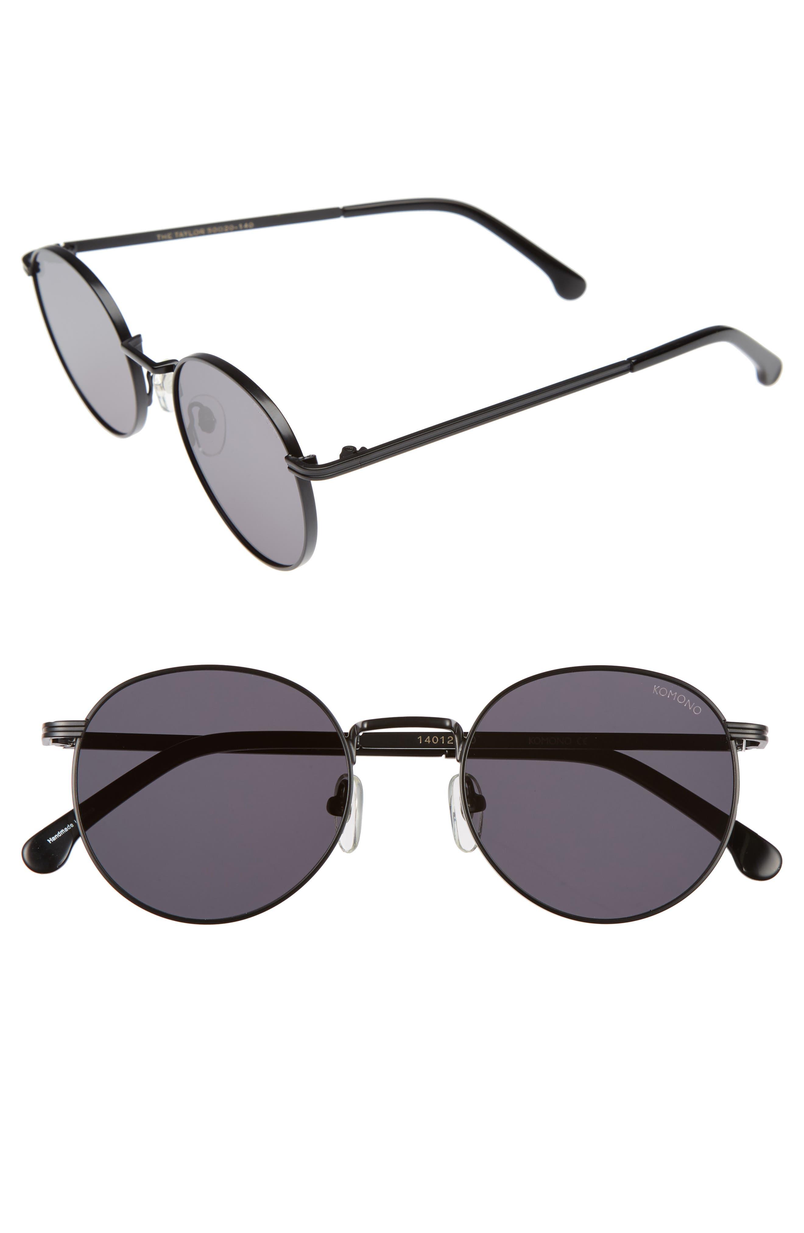 Taylor 50mm Sunglasses,                             Main thumbnail 1, color,                             001