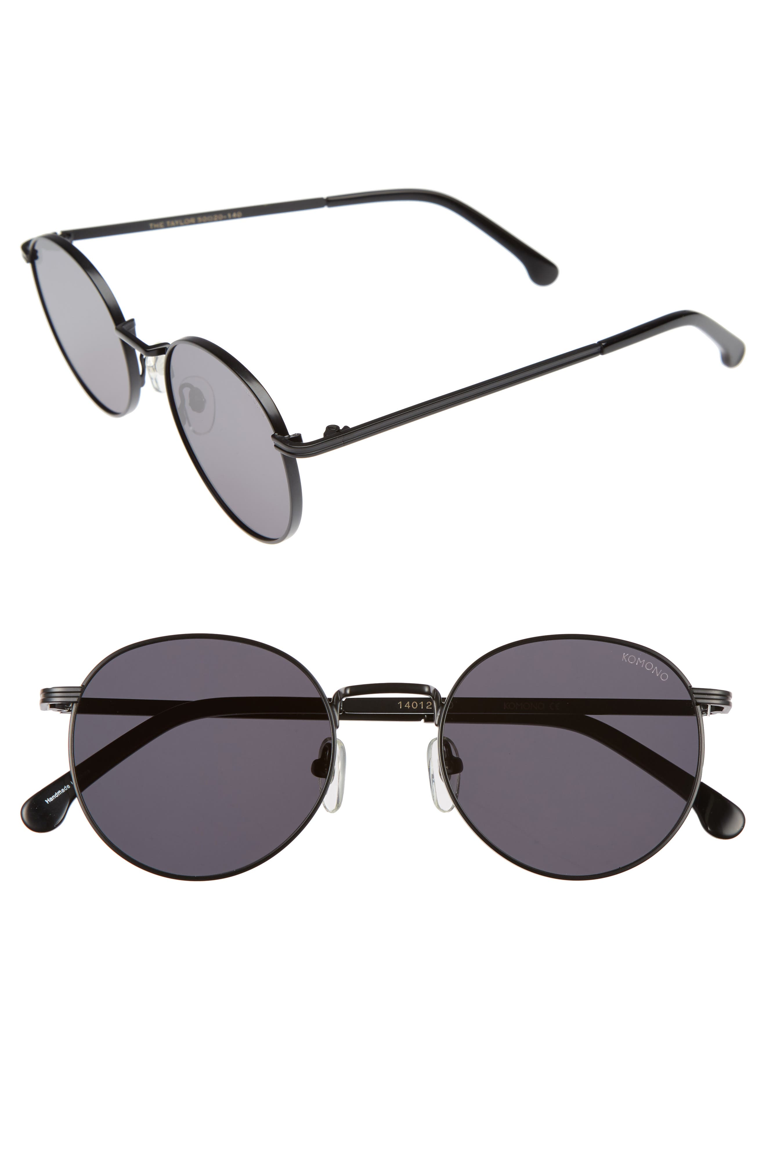 Taylor 50mm Sunglasses, Main, color, 001