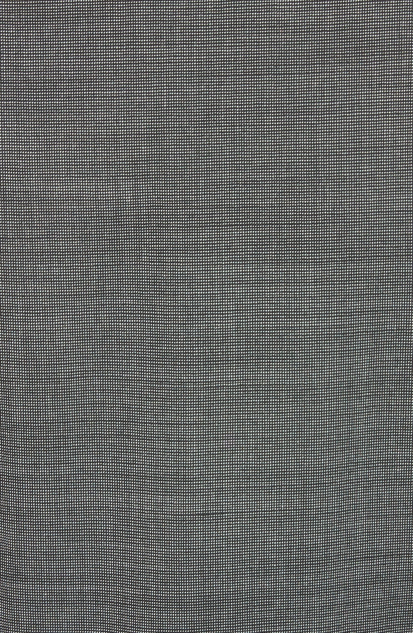 Peplum Hem Jacket,                             Alternate thumbnail 6, color,                             030