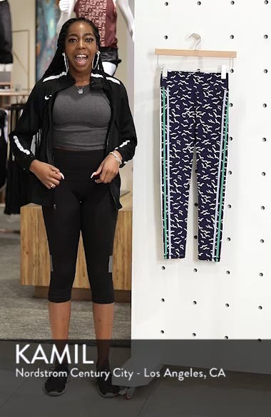 Zazu Print Ankle Leggings, sales video thumbnail