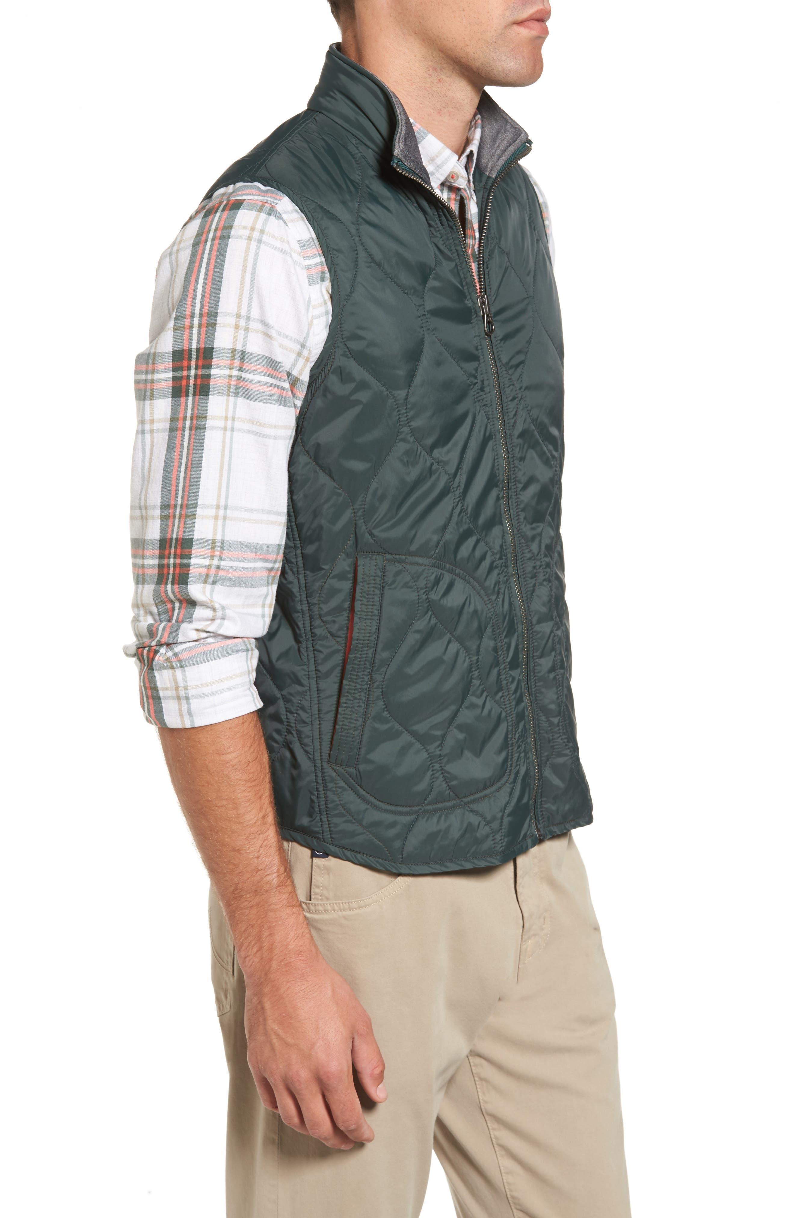 Nylon Quilted Vest,                             Alternate thumbnail 3, color,                             302