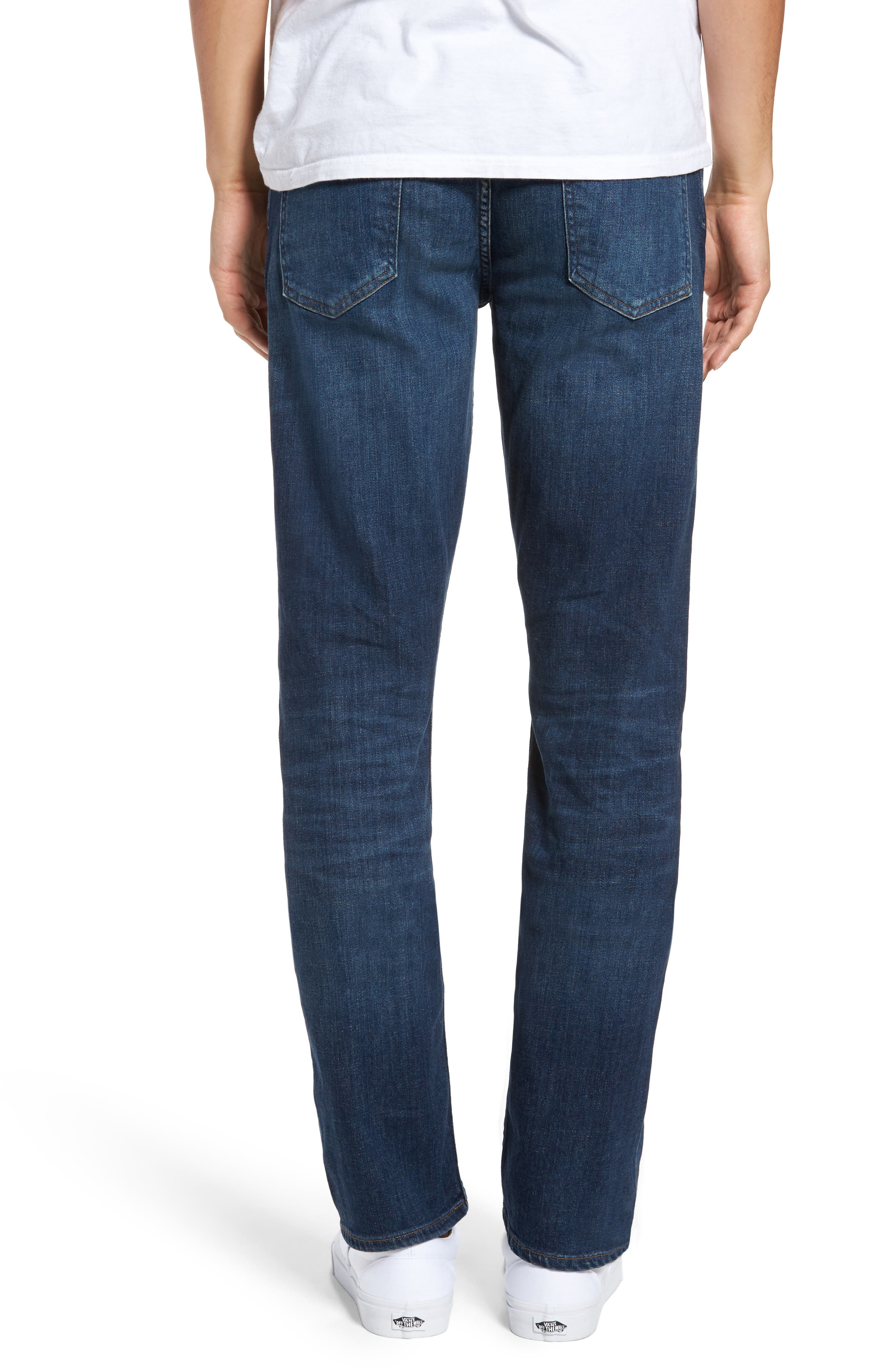 Bowery Slim Fit Jeans,                             Alternate thumbnail 2, color,                             401