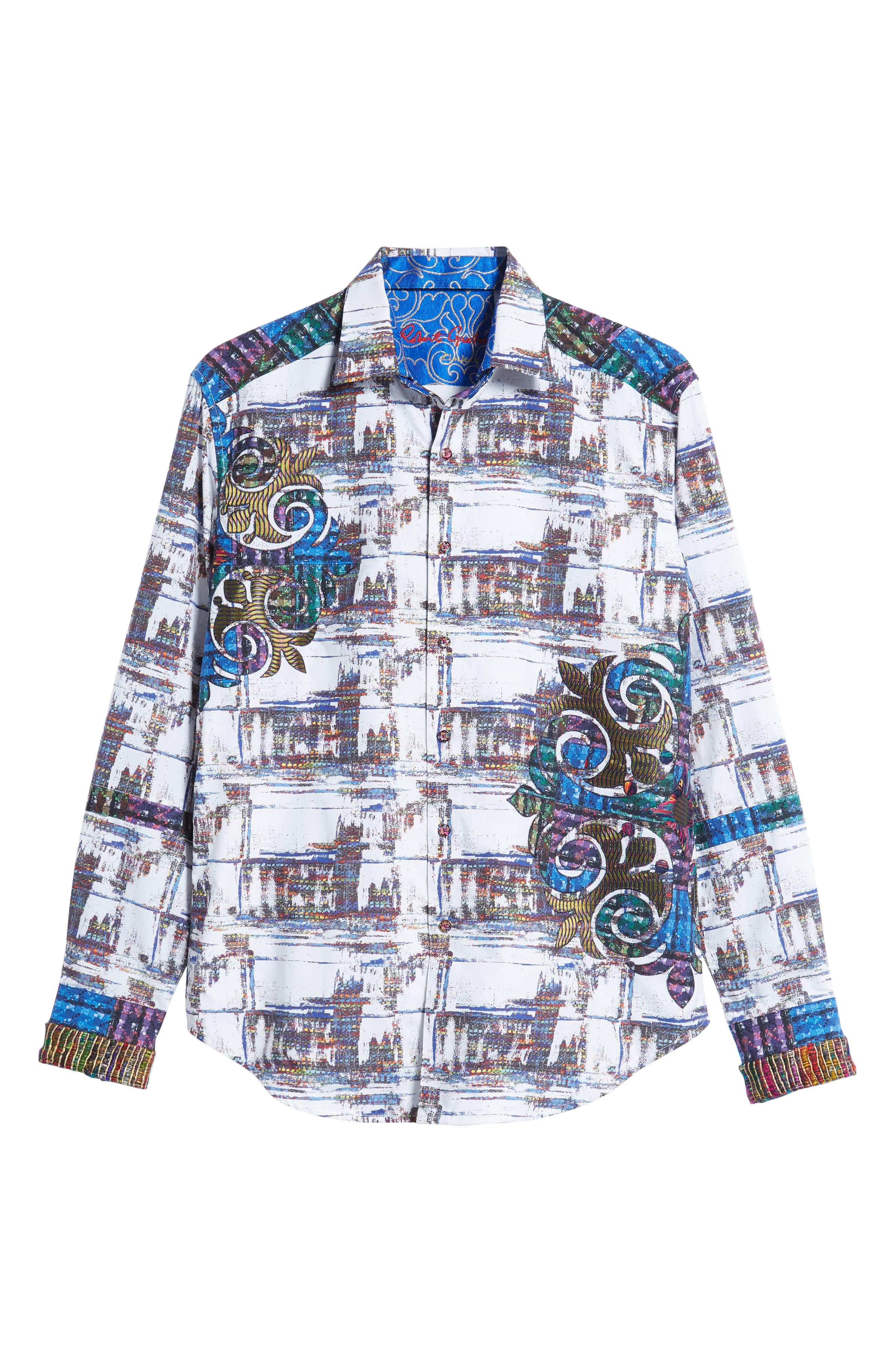 Distinct Palate Limited Edition Classic Fit Sport Shirt,                             Alternate thumbnail 6, color,                             MULTI