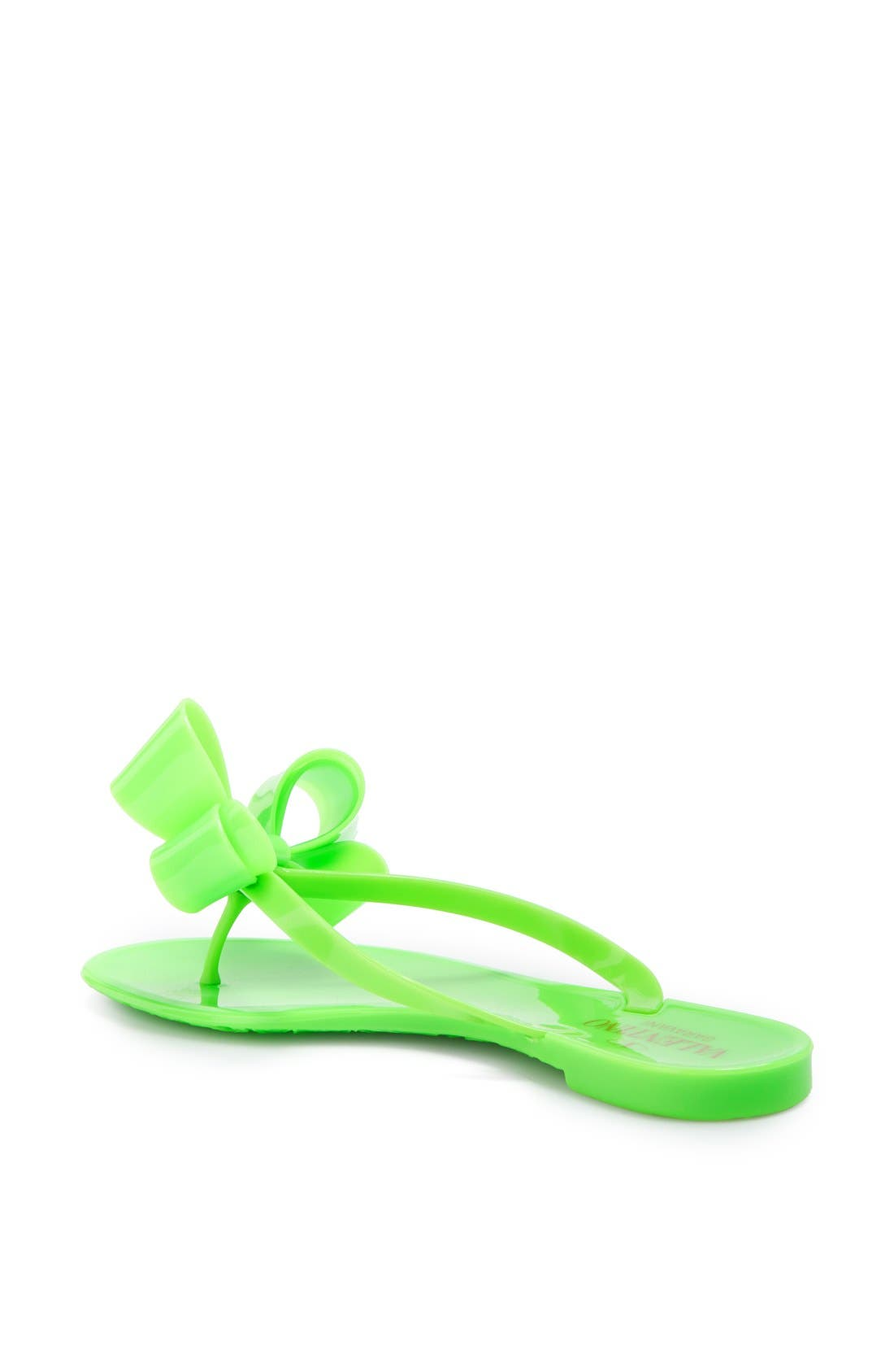 Couture Bow Thong Sandal,                             Alternate thumbnail 23, color,