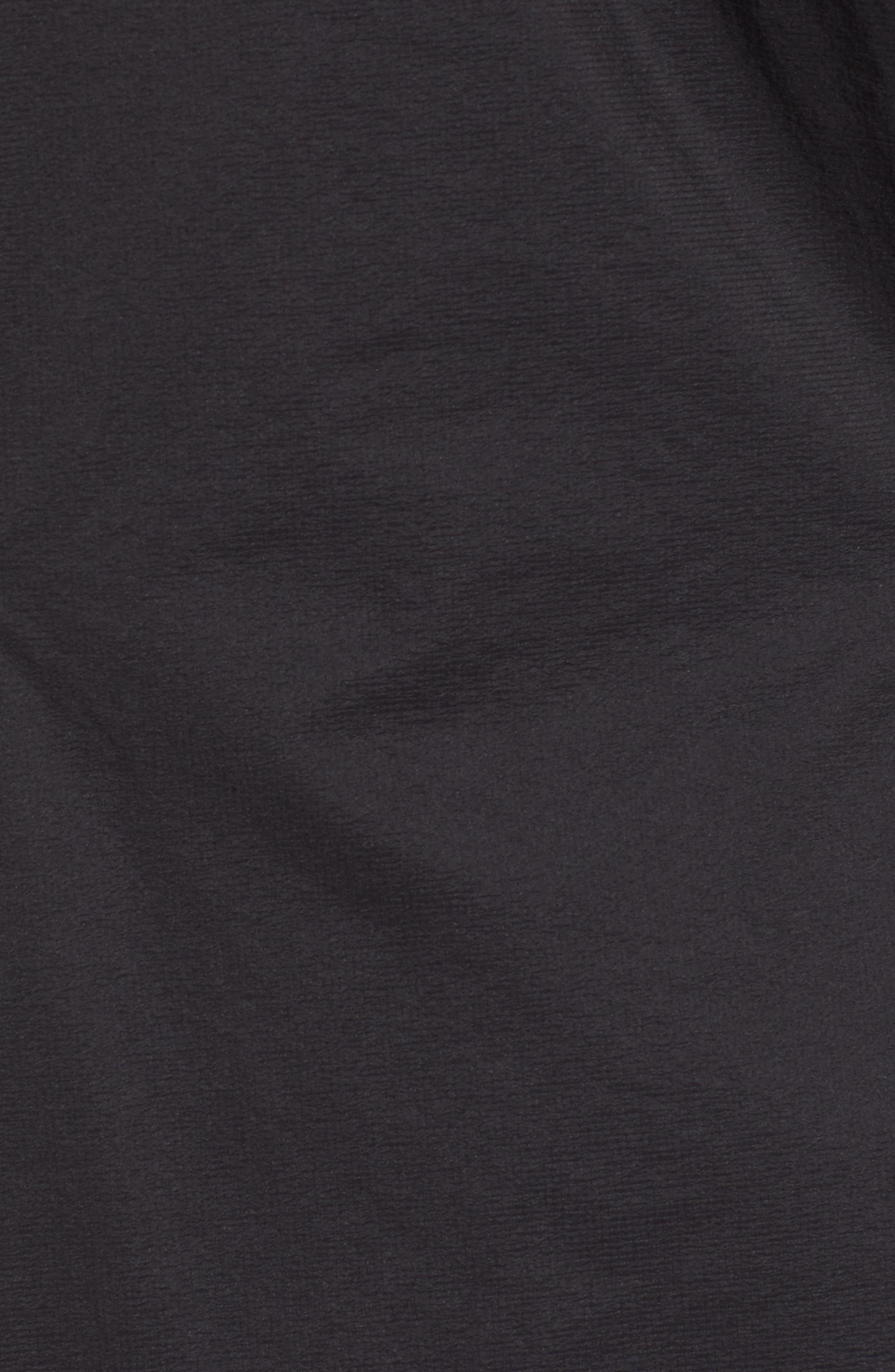 Micro Puff<sup>®</sup> Waterproof Storm Jacket,                             Alternate thumbnail 6, color,                             BLACK