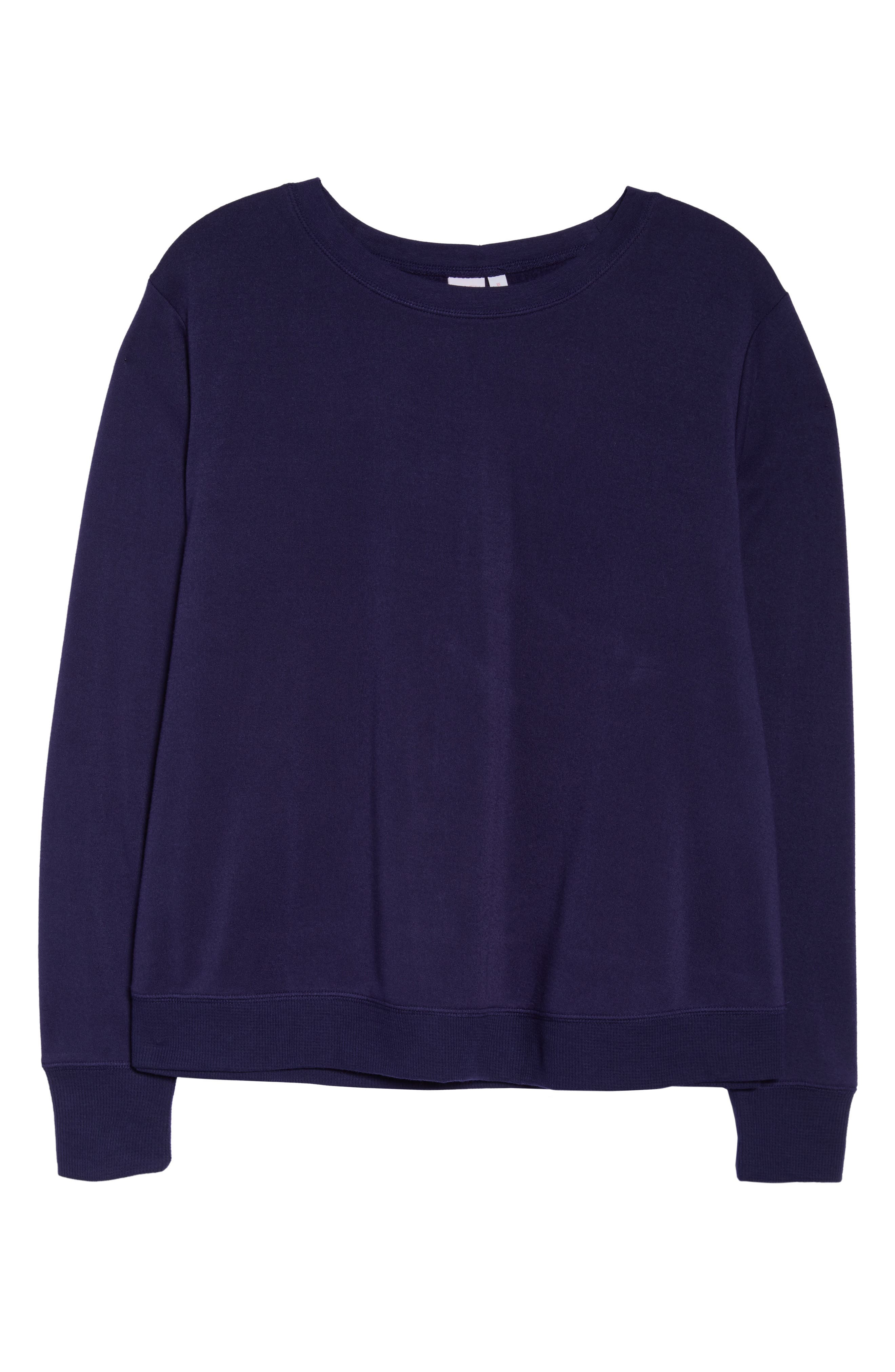 This Is It Sweatshirt,                             Alternate thumbnail 6, color,                             NAVY DUSK