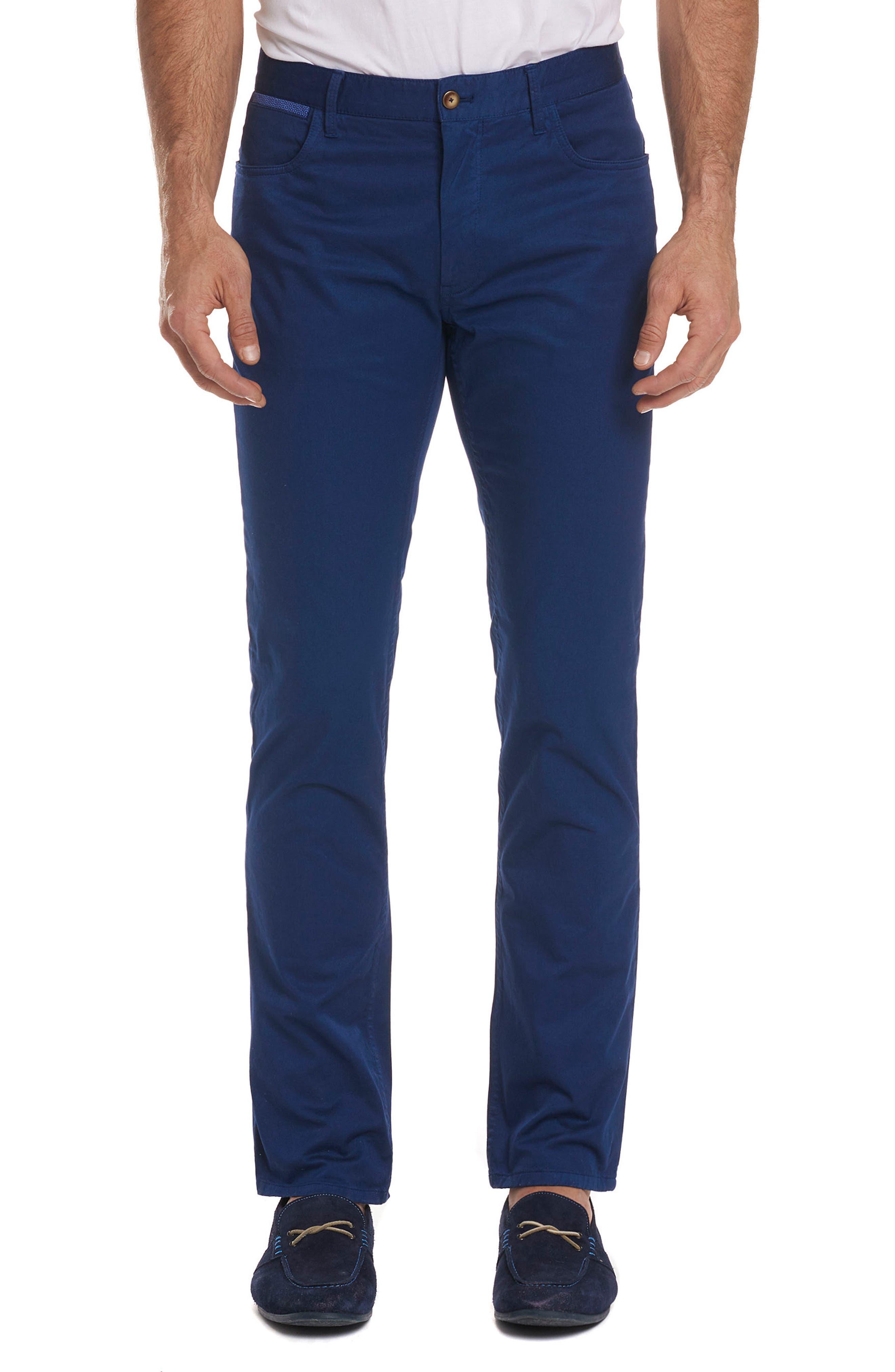 Marti Tailored Fit Pants,                         Main,                         color, BLUE