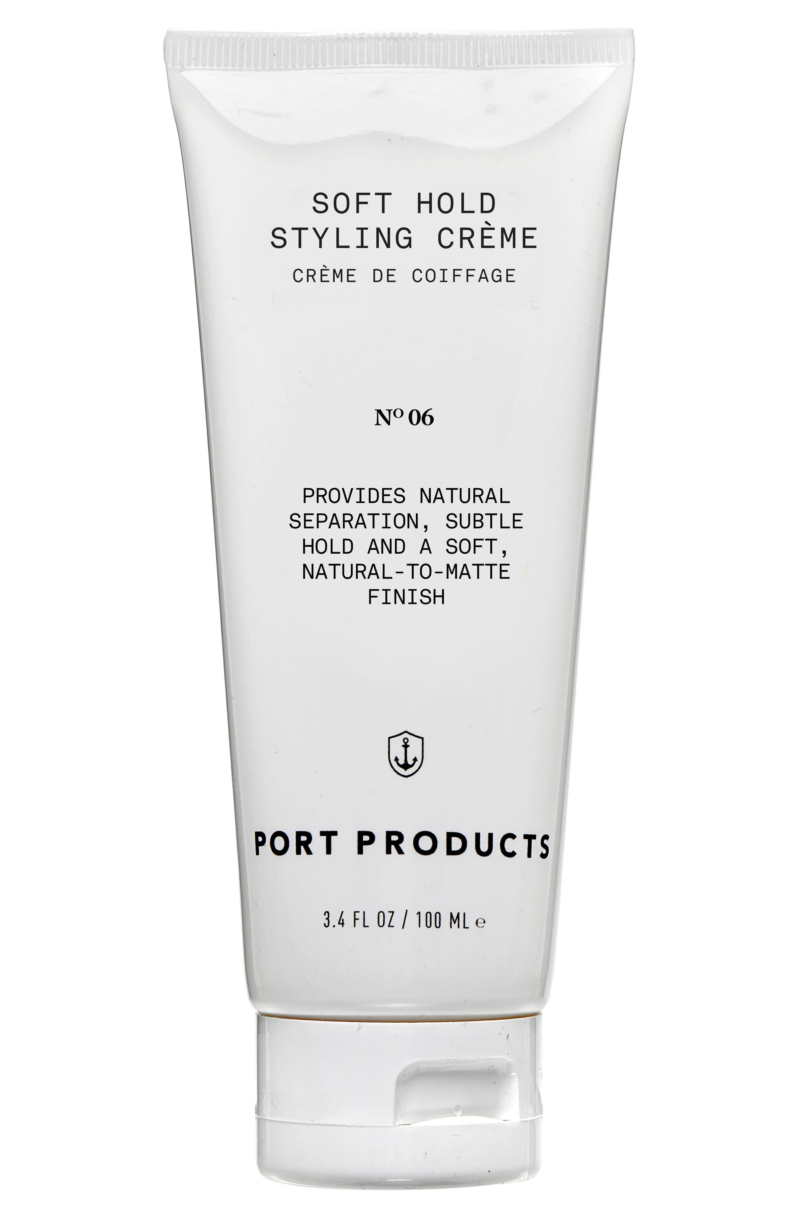 Soft Hold Styling Crème,                             Main thumbnail 1, color,                             000