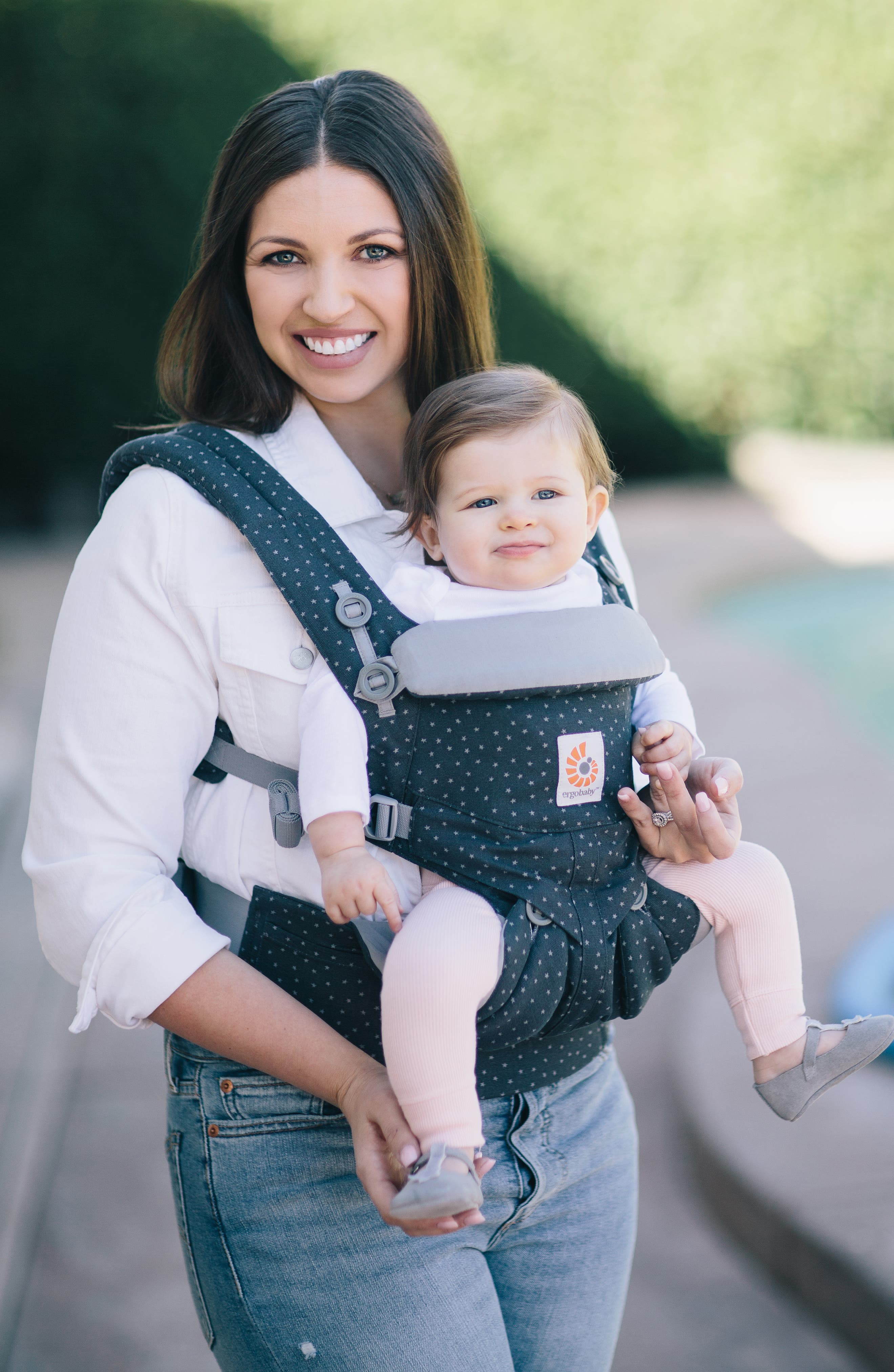 Omni 360 Baby Carrier,                             Alternate thumbnail 5, color,                             GREY WITH STARS