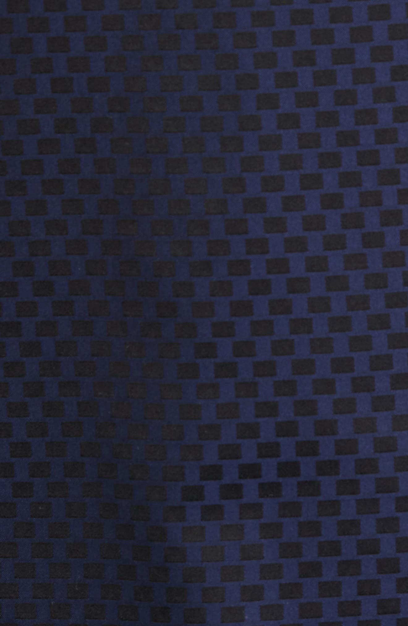 Shaped Fit Rectangle Jacquard Sport Shirt,                             Alternate thumbnail 13, color,