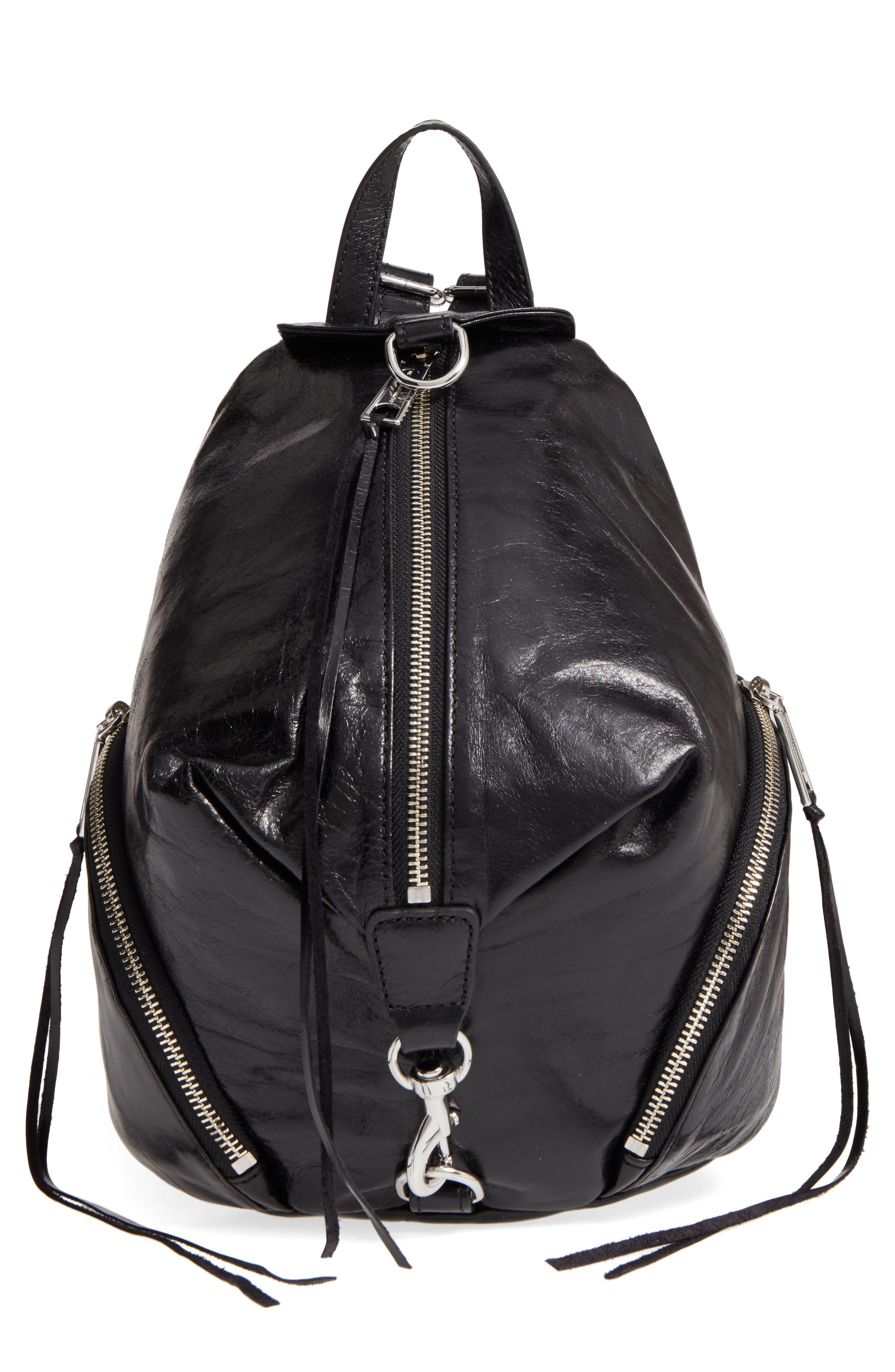 Medium Julian Leather Backpack,                             Main thumbnail 2, color,