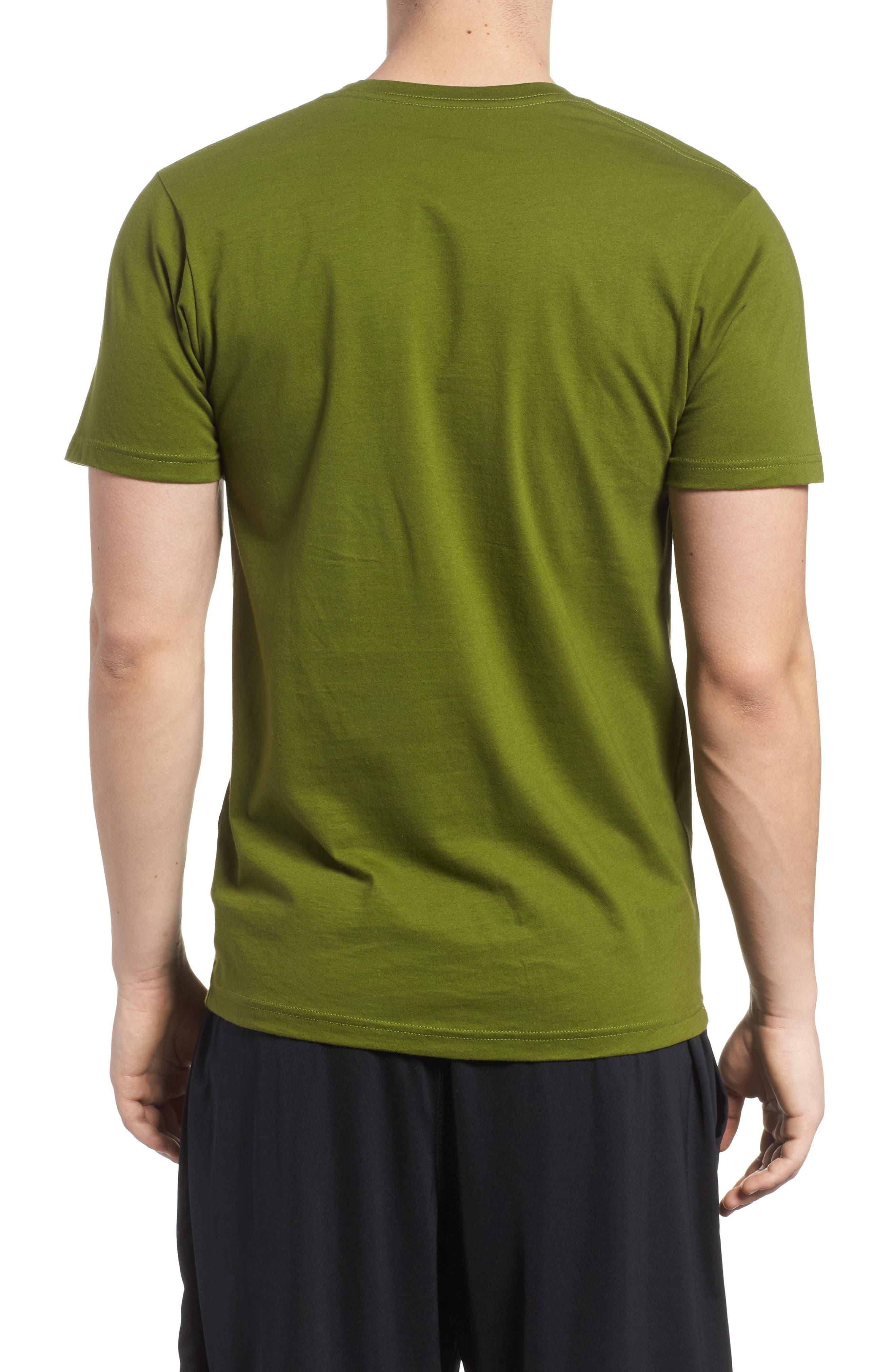 PATAGONIA,                             Oily Olas Slim Fit Organic Cotton T-Shirt,                             Alternate thumbnail 2, color,                             300