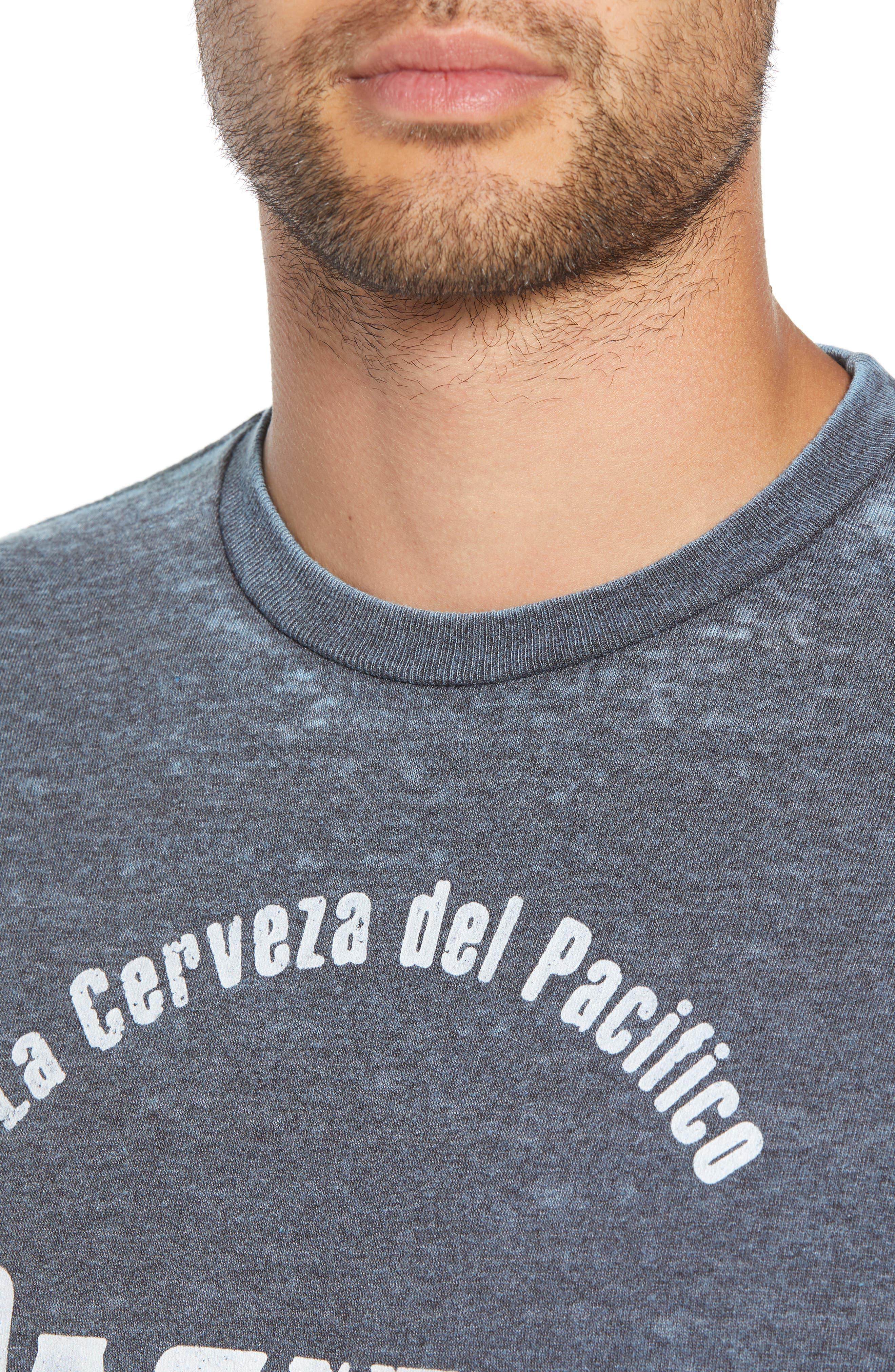 Pacifico Burnout T-Shirt,                             Alternate thumbnail 4, color,                             420