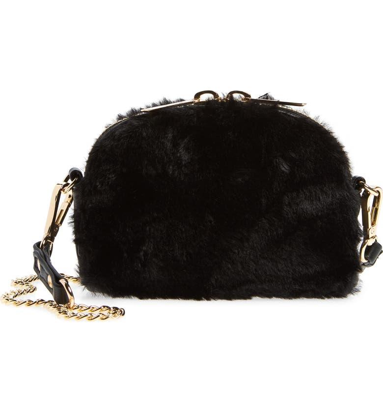 MALI + LILI Mali + Lali Lana Faux Fur   Vegan Leather Belt Bag 6b2b5ad40035b
