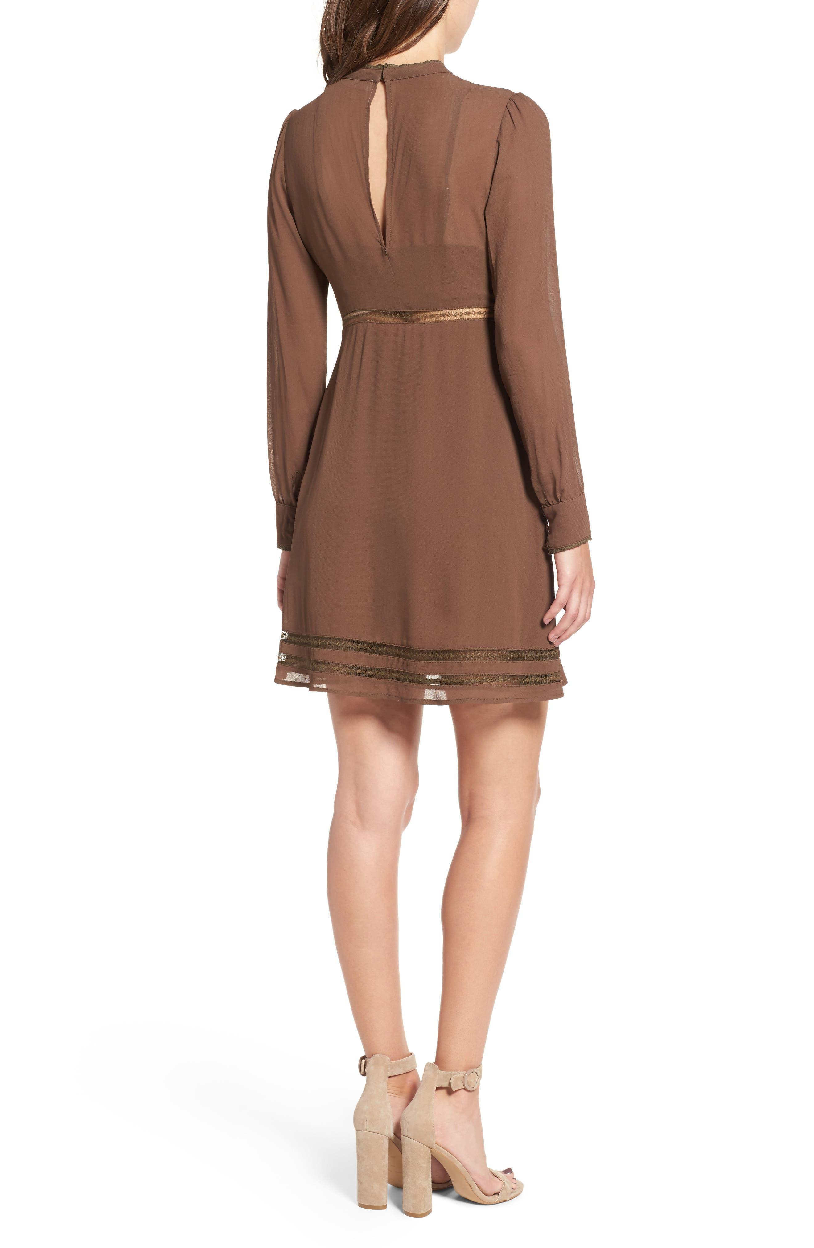 Kirsten A-Line Dress,                             Alternate thumbnail 6, color,