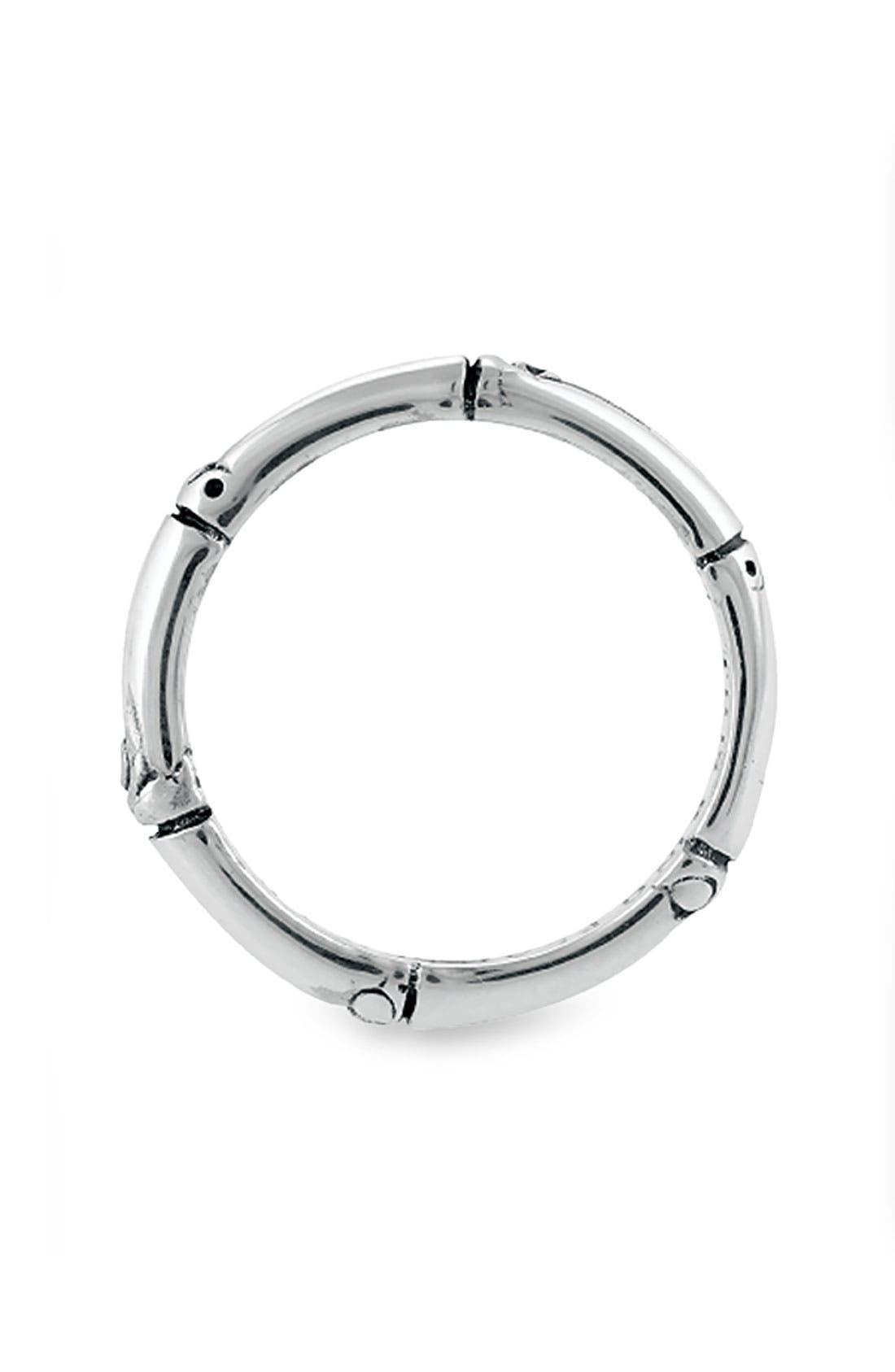'Bamboo' Silver Ring,                             Alternate thumbnail 2, color,                             SILVER