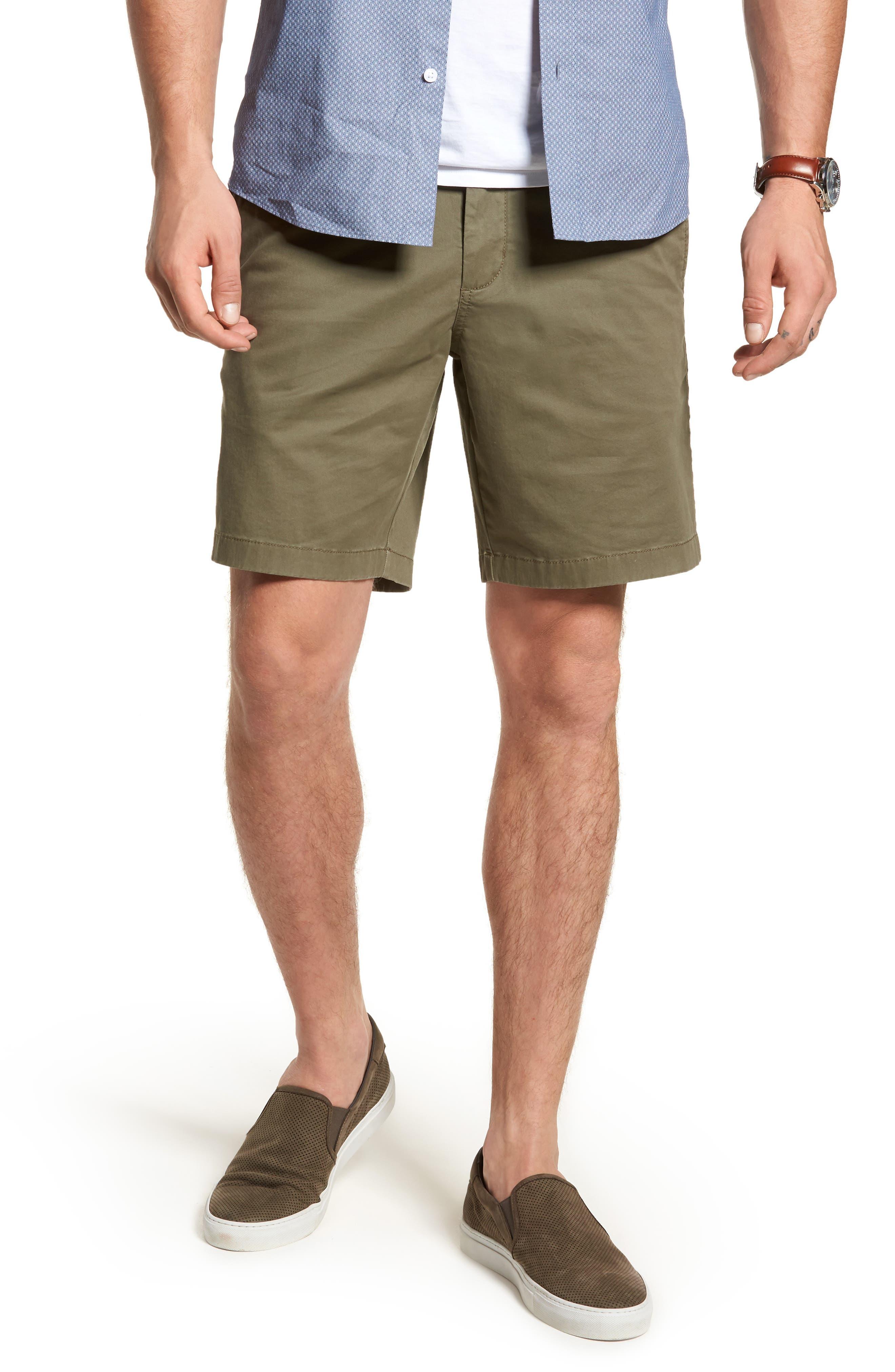 Ballard Slim Fit Stretch Chino 9-Inch Shorts,                             Main thumbnail 5, color,