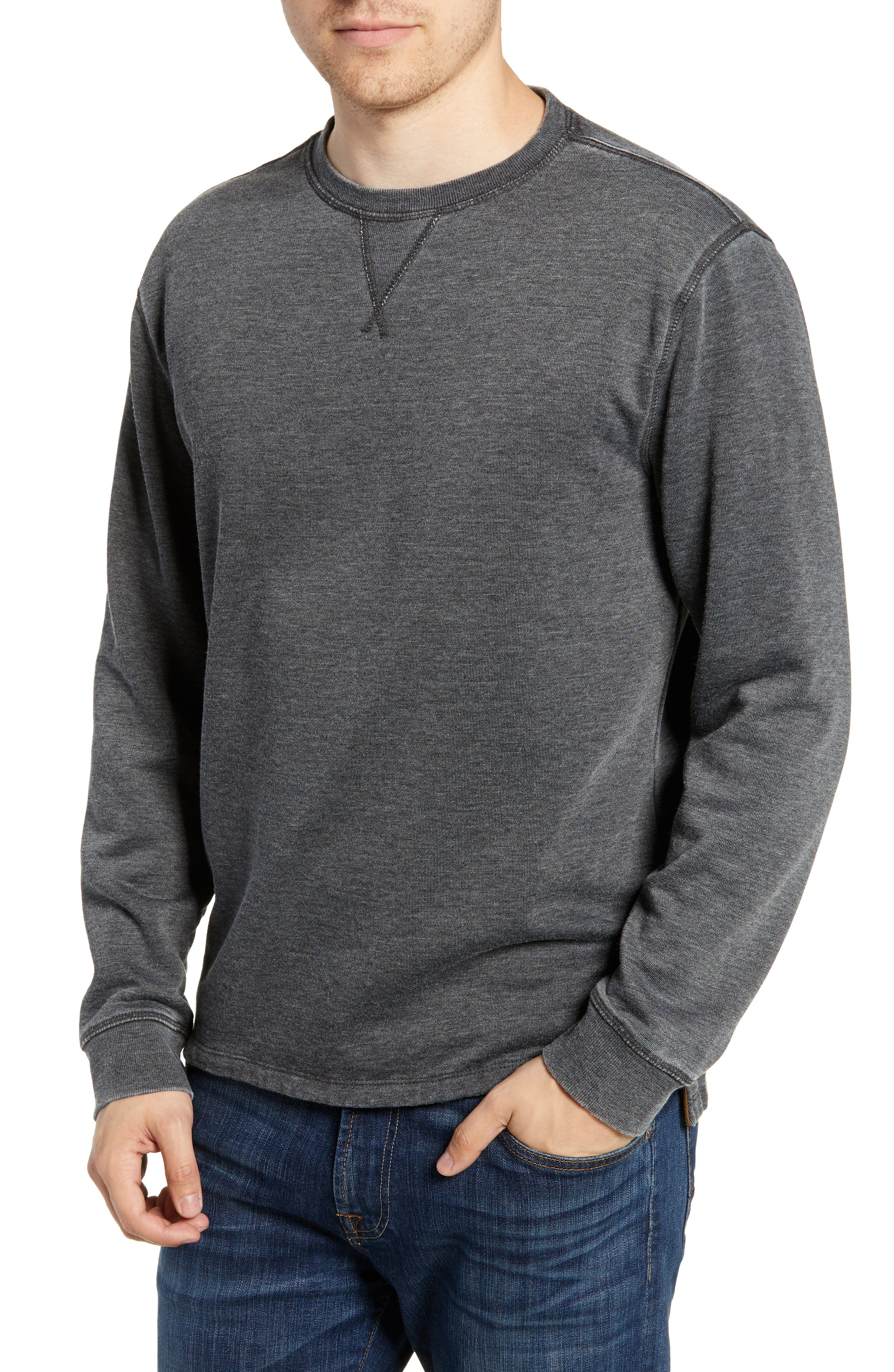 Crewneck Regular Fit Pullover,                             Main thumbnail 1, color,                             021