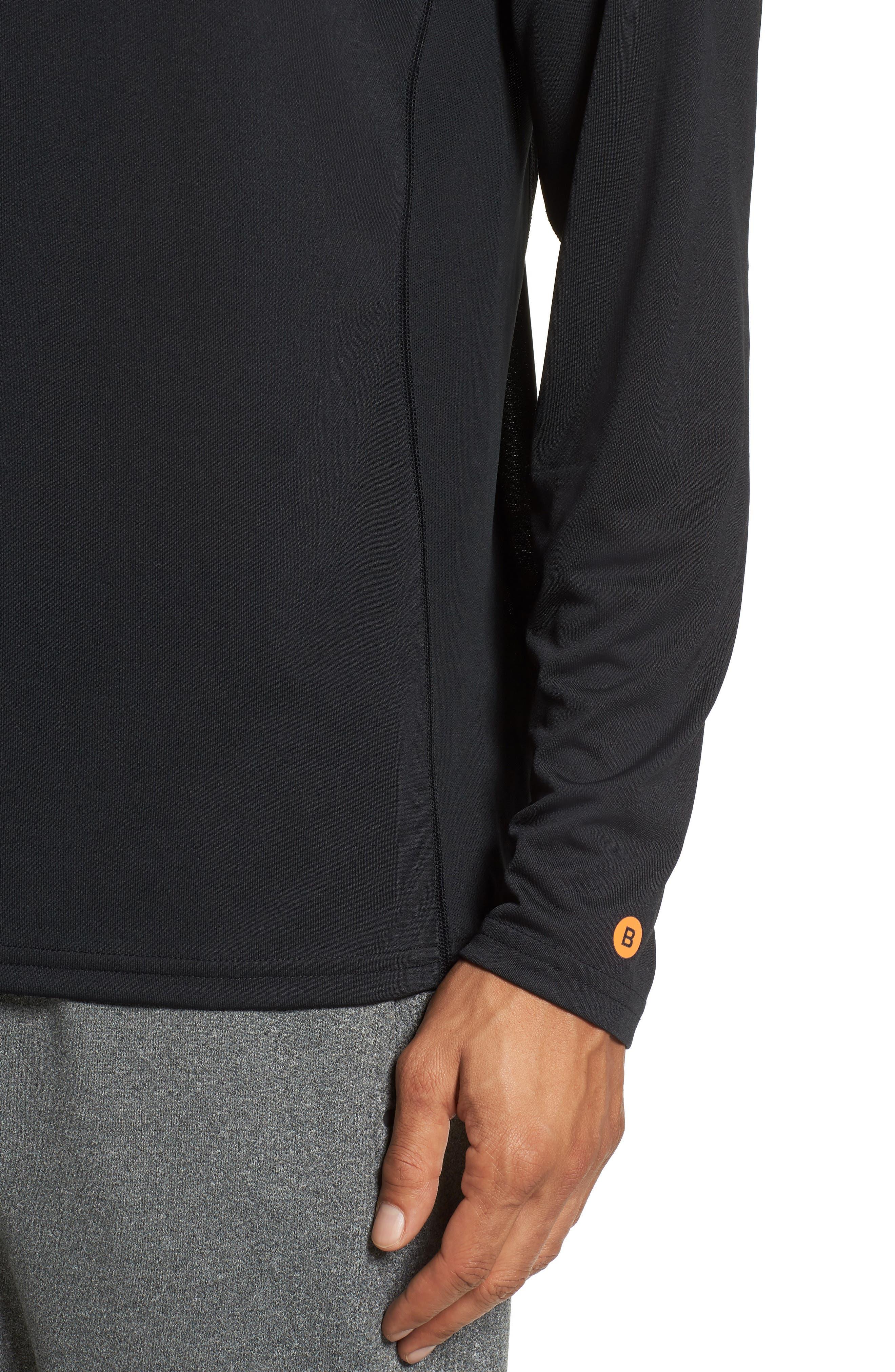 Goodsport T-Shirt,                             Alternate thumbnail 4, color,                             JET BLACK