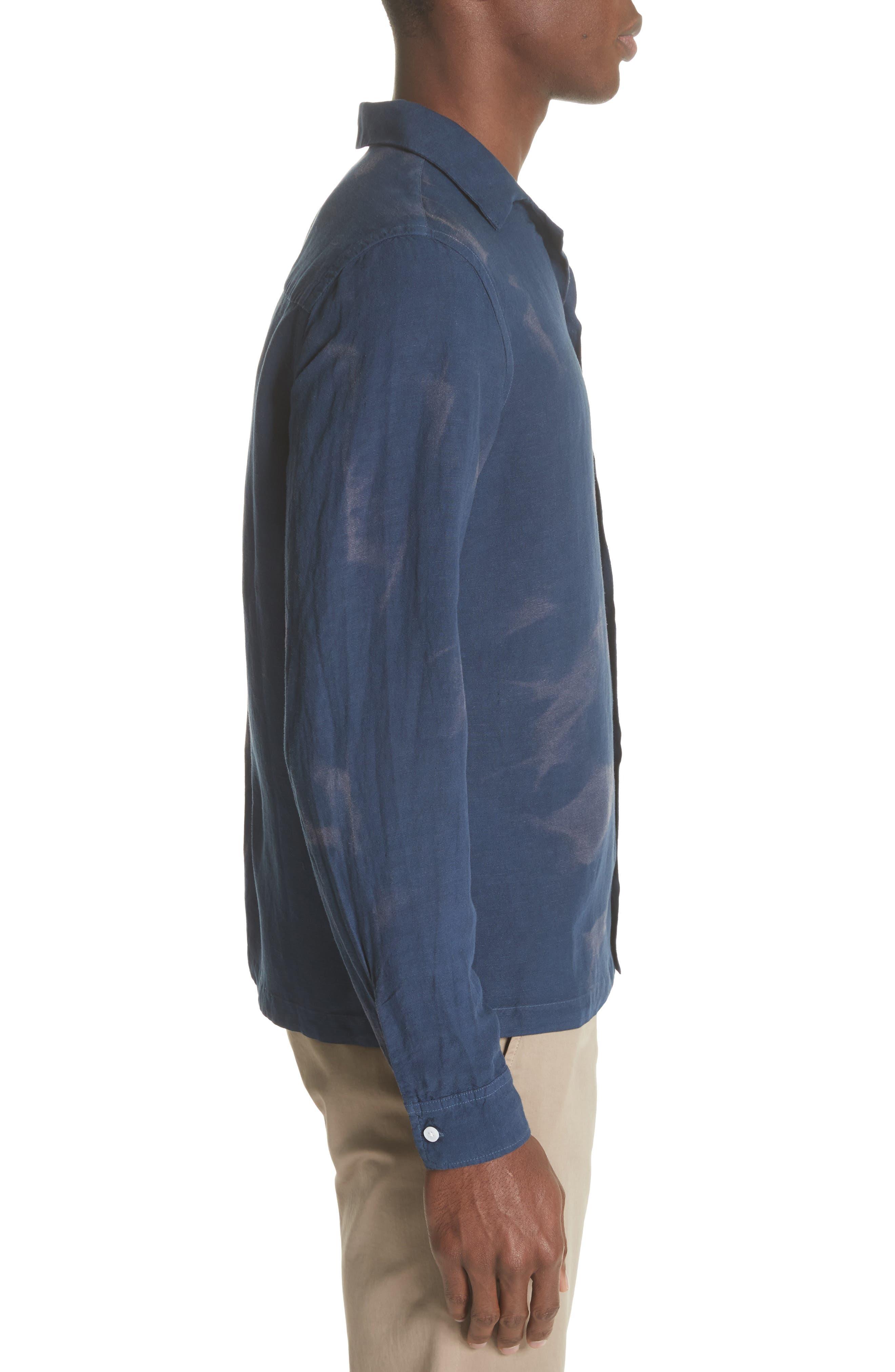 Canty Long Sleeve Camp Shirt,                             Alternate thumbnail 3, color,                             406