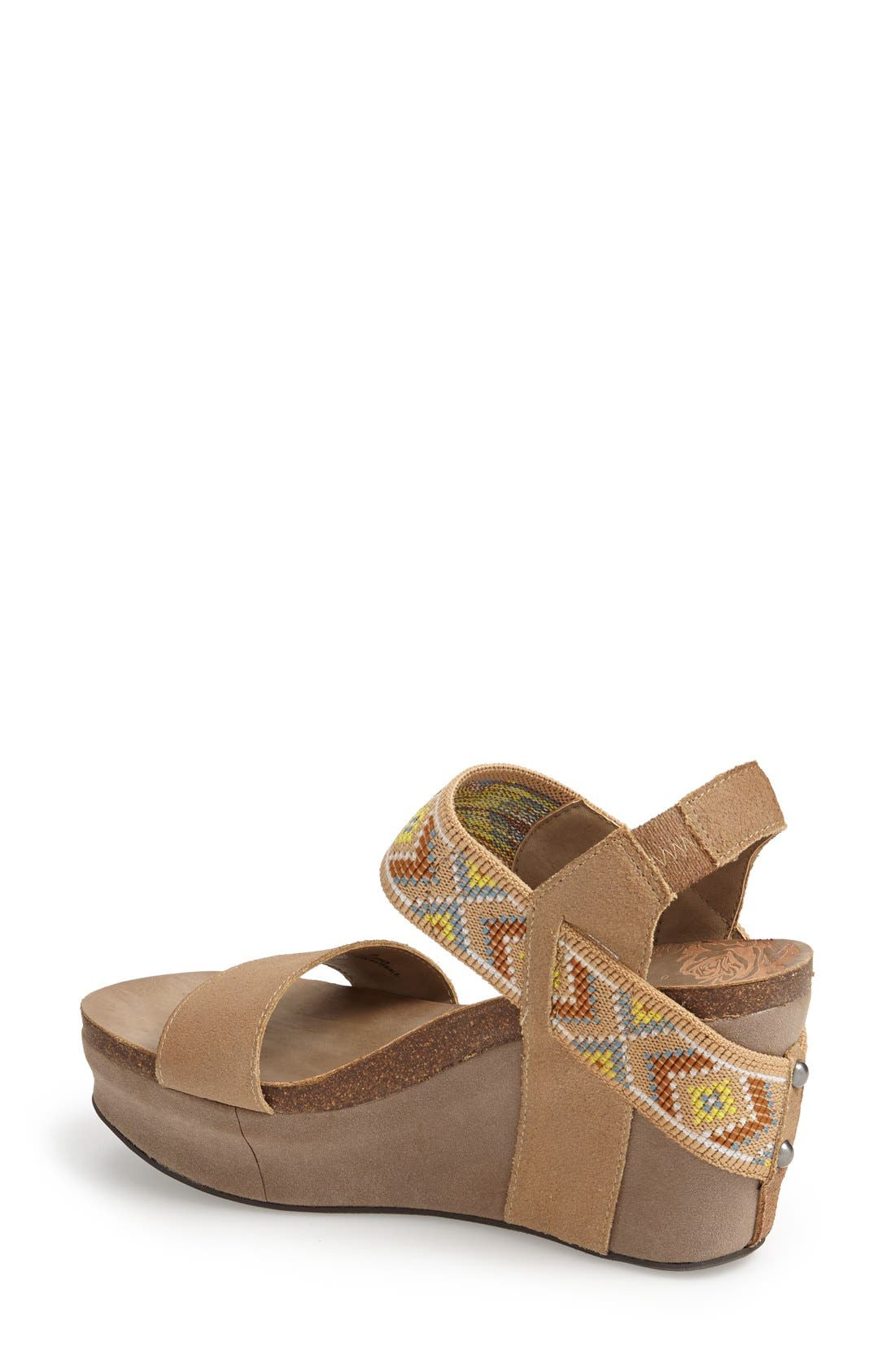'Bushnell' Wedge Sandal,                             Alternate thumbnail 46, color,
