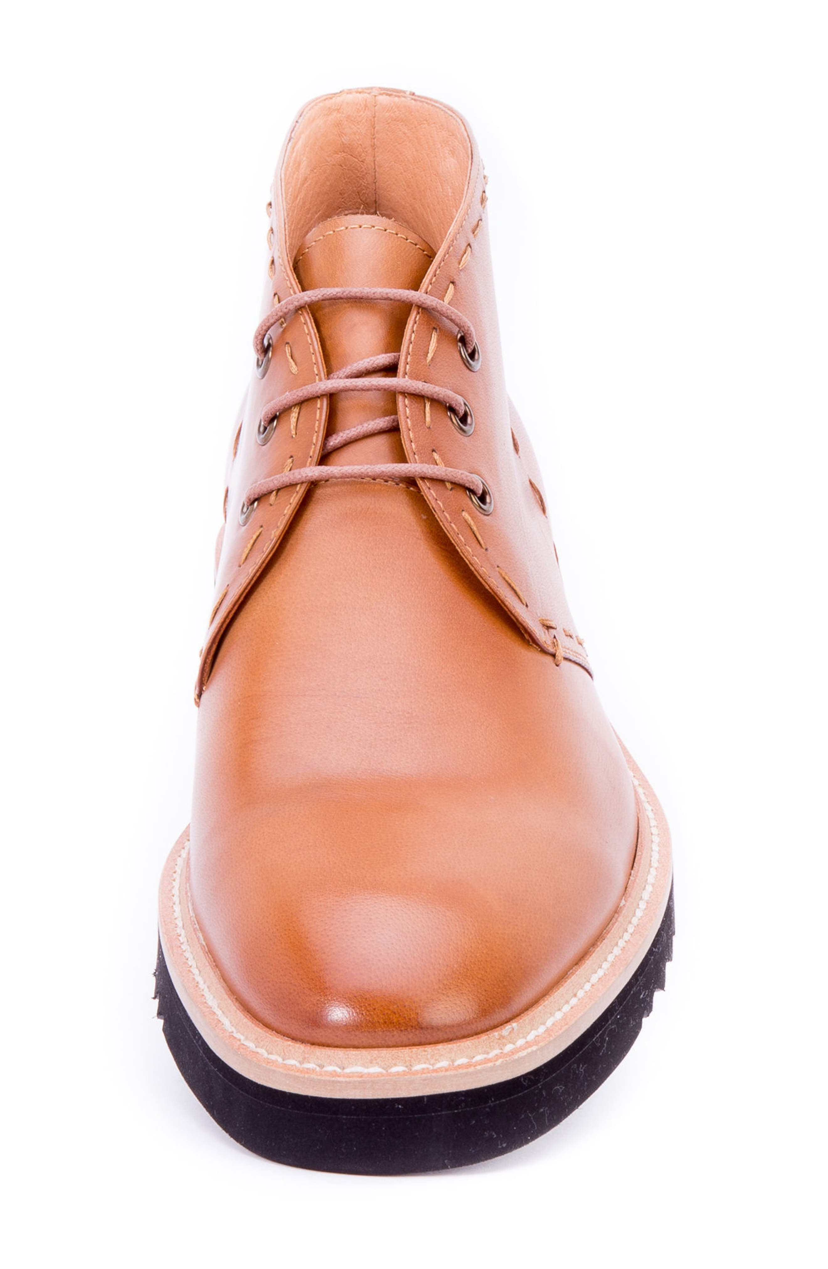 Lombardo Chukka Boot,                             Alternate thumbnail 4, color,                             COGNAC LEATHER