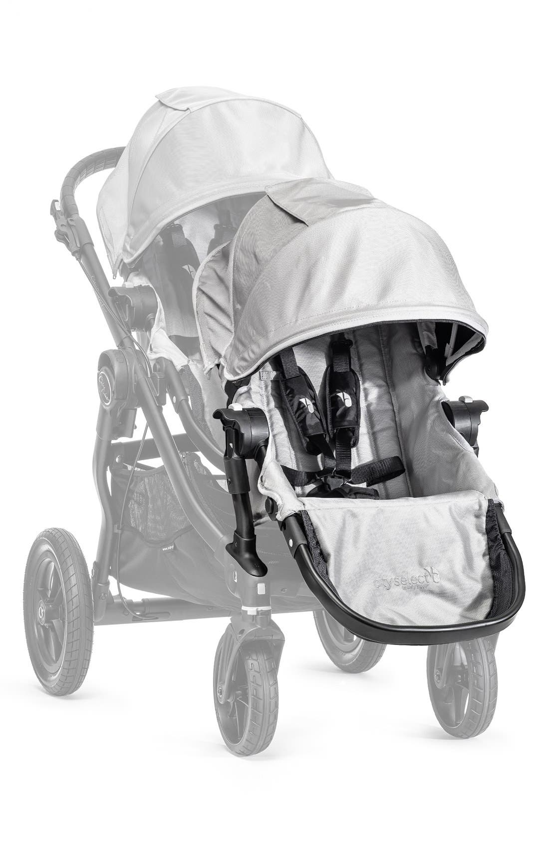 BABY JOGGER City Select<sup>™</sup> Second Stroller Seat Kit, Main, color, SILVER
