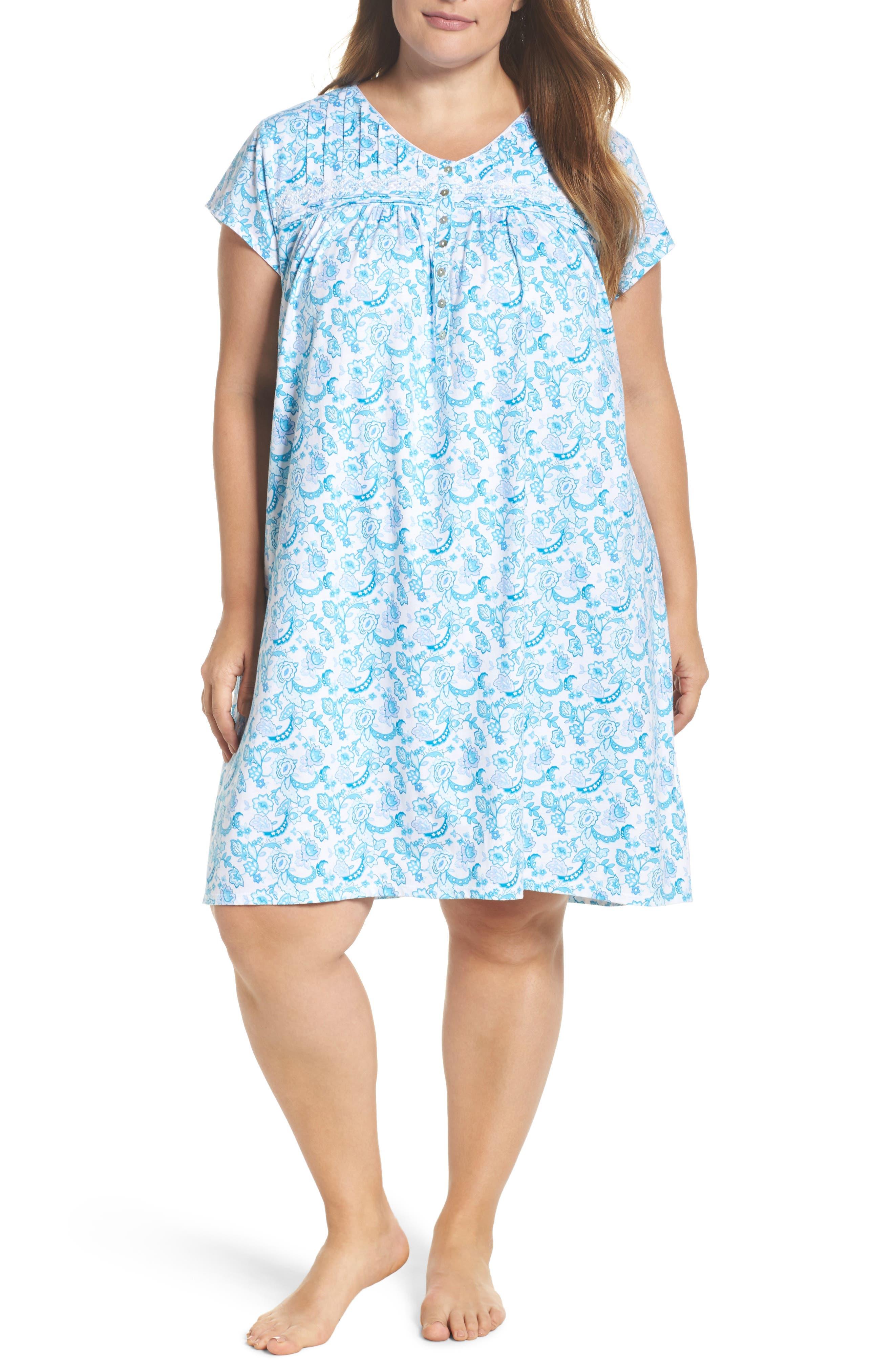 Short Nightgown,                             Main thumbnail 3, color,