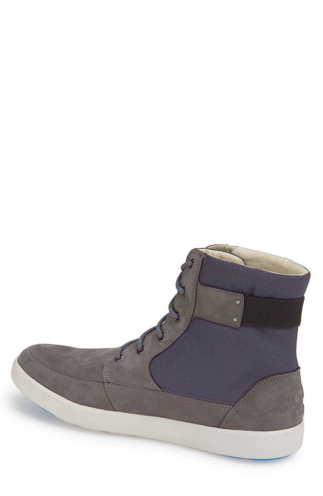 'Stockholm' Waterproof High Top Sneaker,                             Alternate thumbnail 5, color,