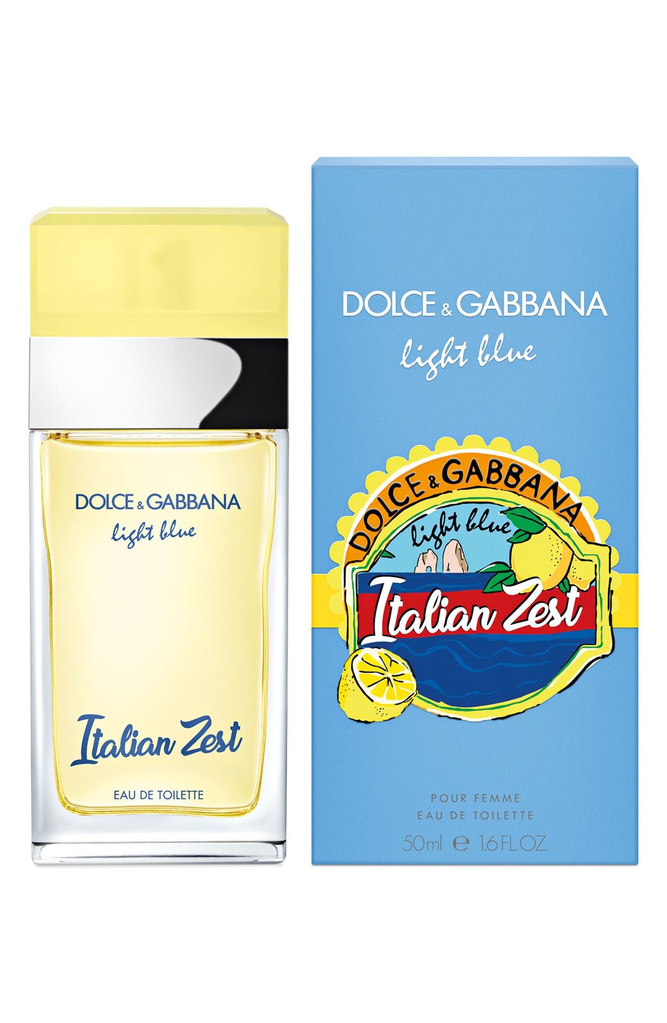 Dolce&Gabbana Light Blue Italian Zest Eau de Toilette,                             Alternate thumbnail 4, color,                             000