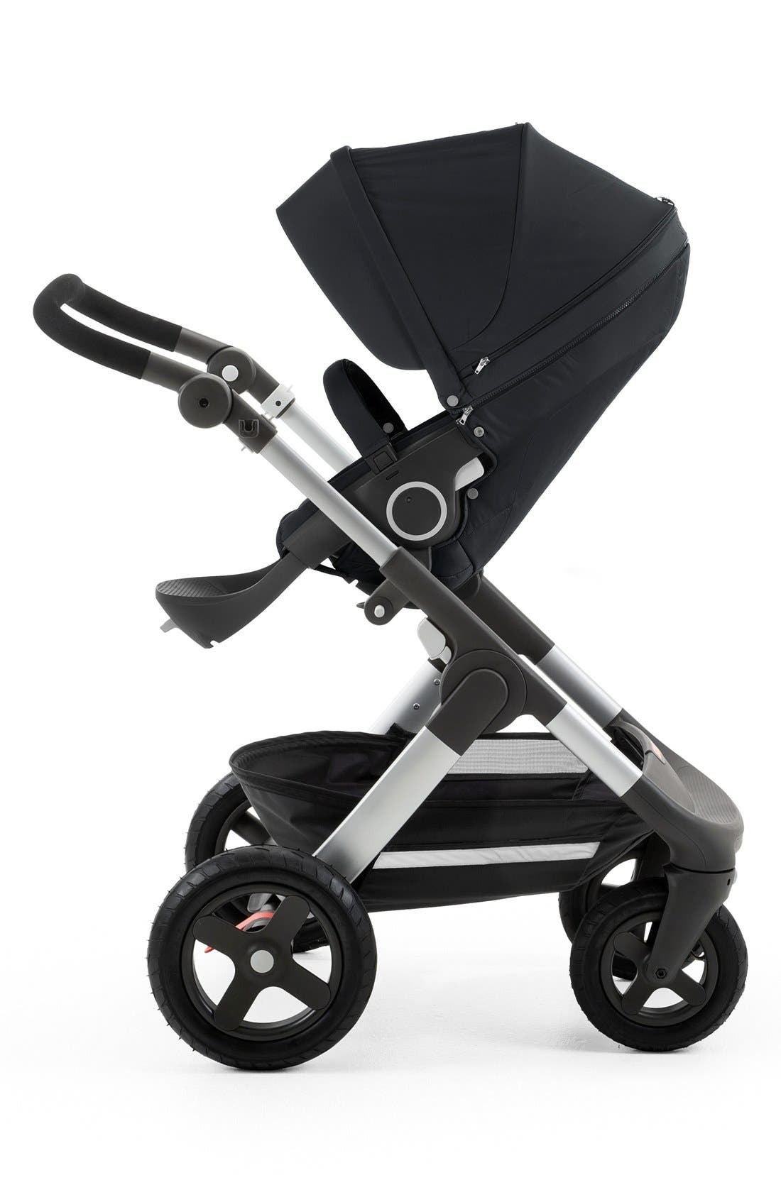 Trailz<sup>™</sup> All Terrain Stroller,                             Alternate thumbnail 4, color,                             BLACK MELANGE