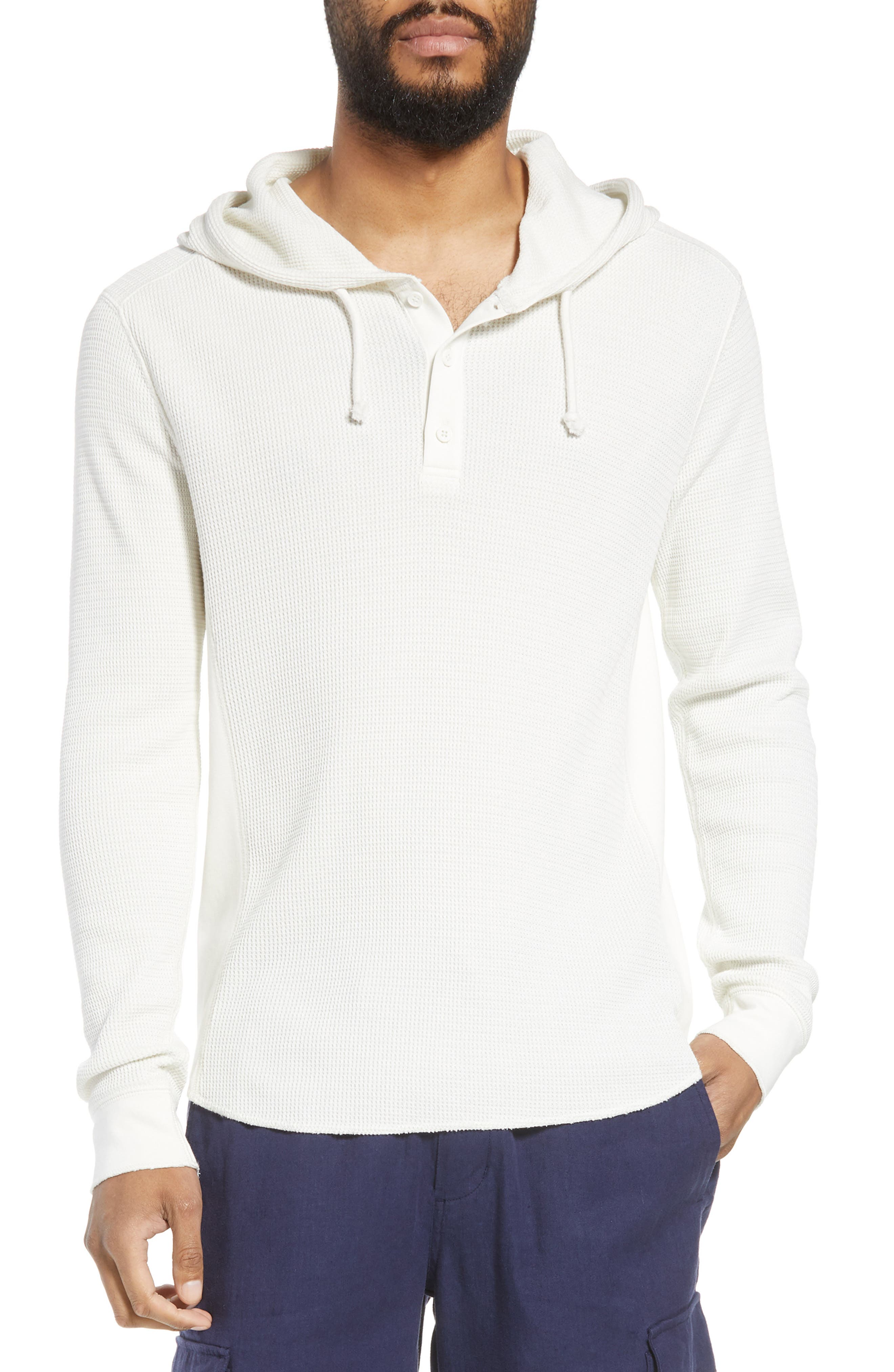 Regular Fit Thermal Knit Pullover Hoodie,                             Main thumbnail 1, color,                             110